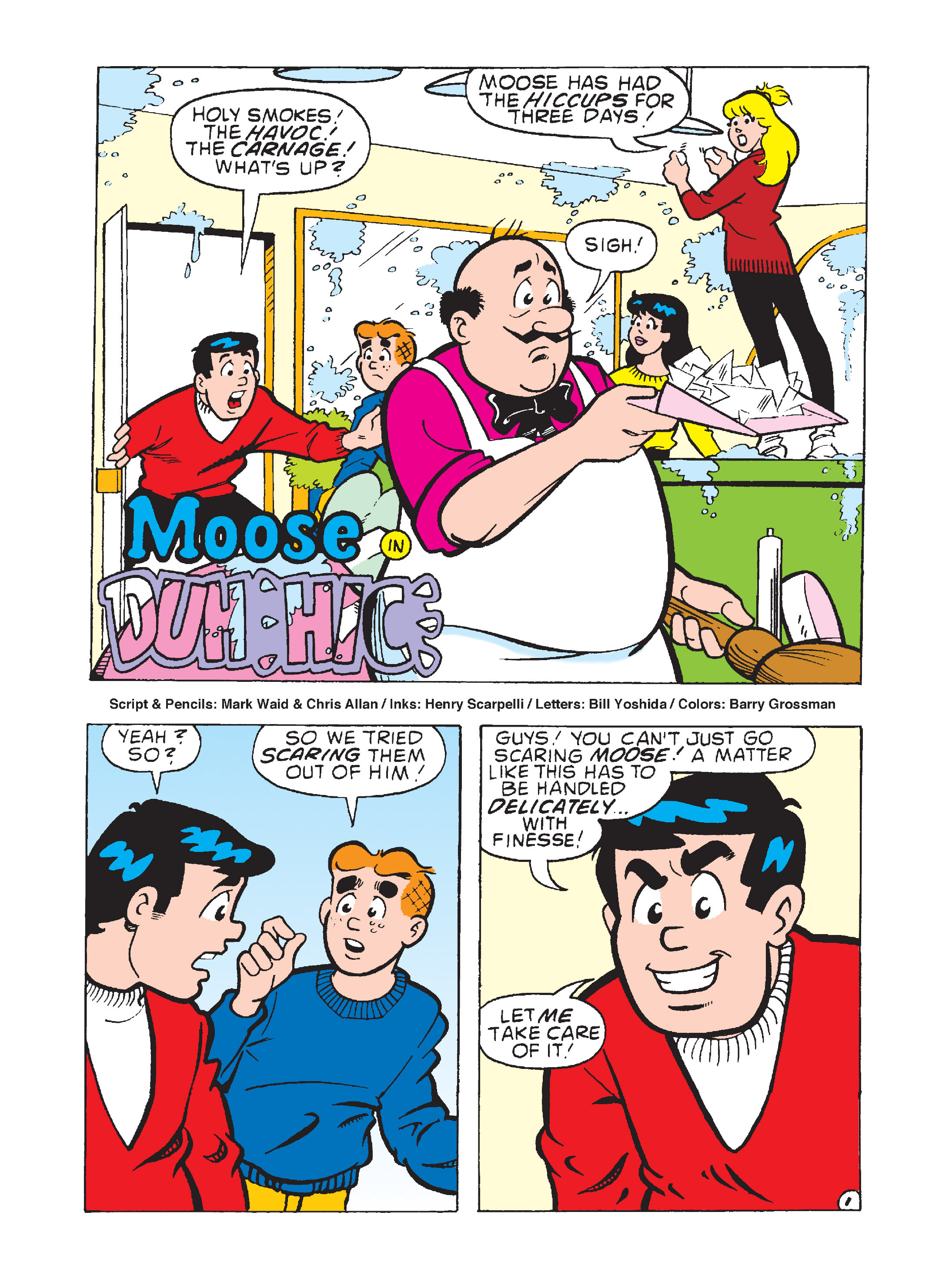 Read online Archie 75th Anniversary Digest comic -  Issue #3 - 140