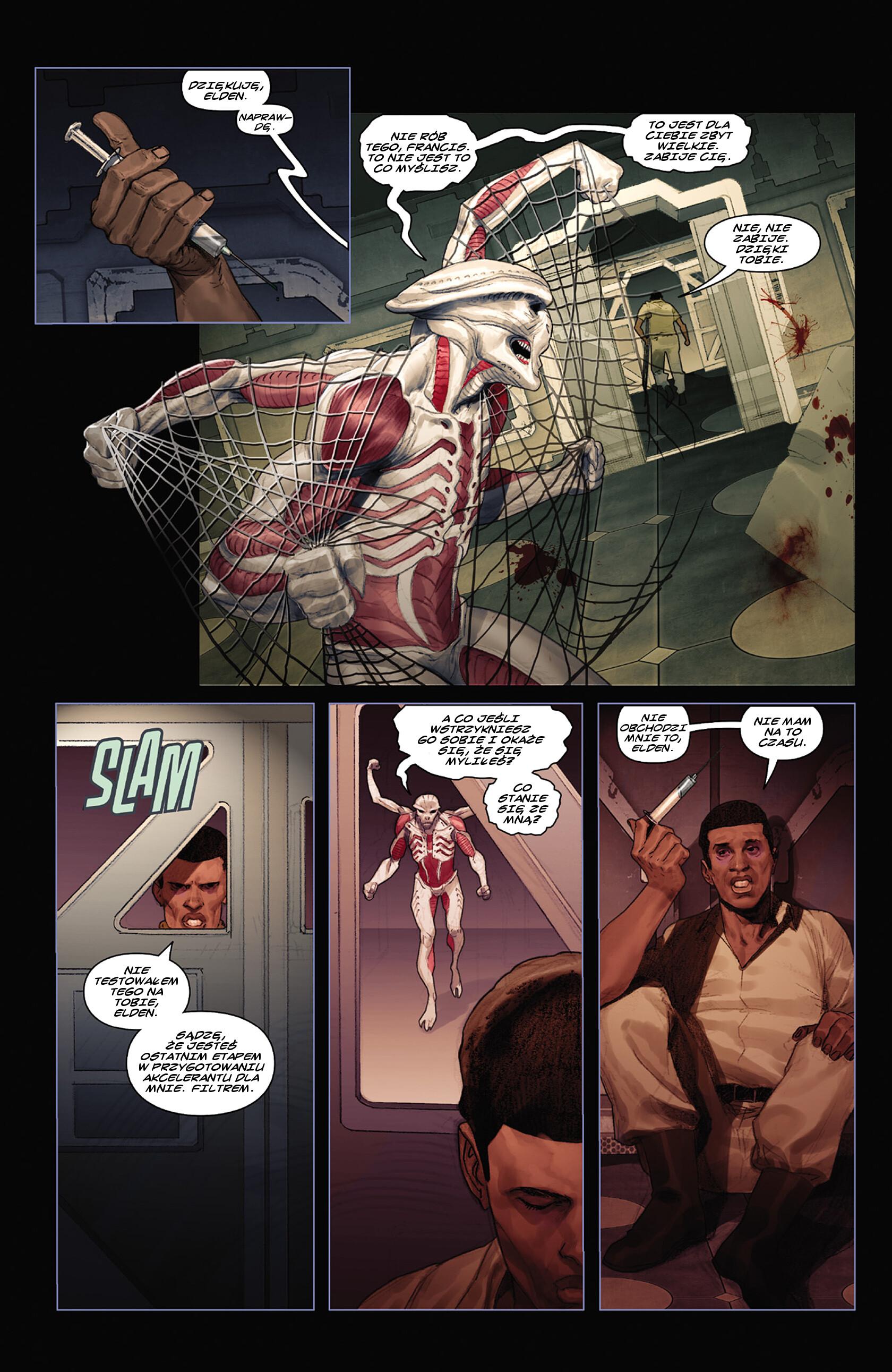 Read online Alien vs. Predator: Fire and Stone comic -  Issue #3 - 17