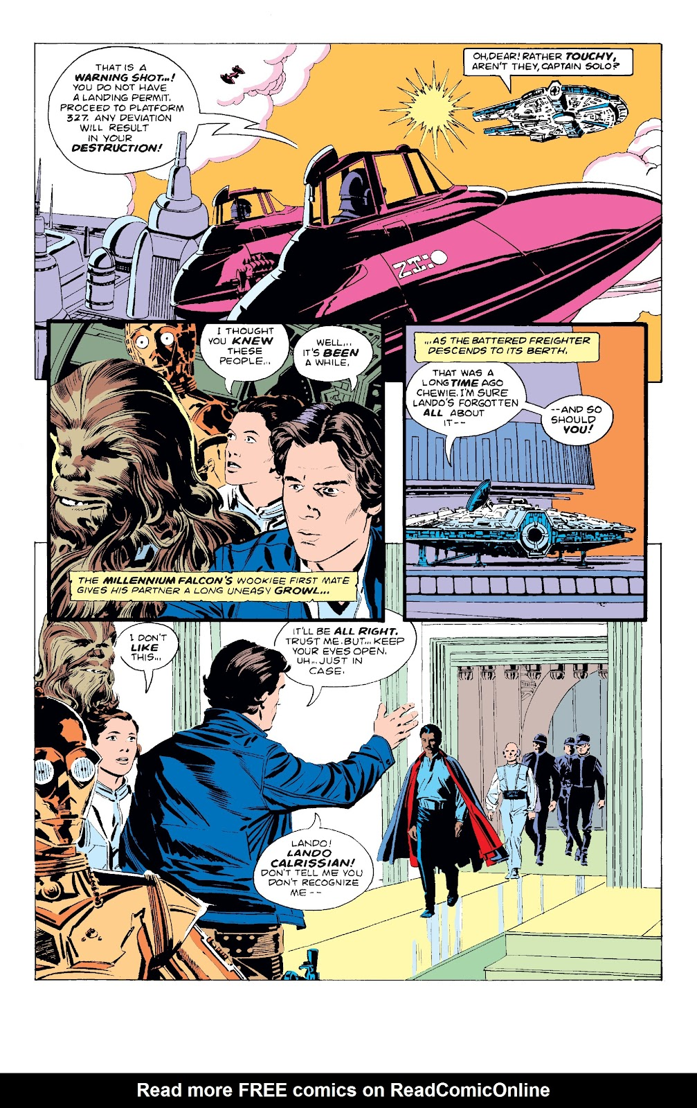 Read online Star Wars Legends: The Original Marvel Years - Epic Collection comic -  Issue # TPB 3 (Part 1) - 81