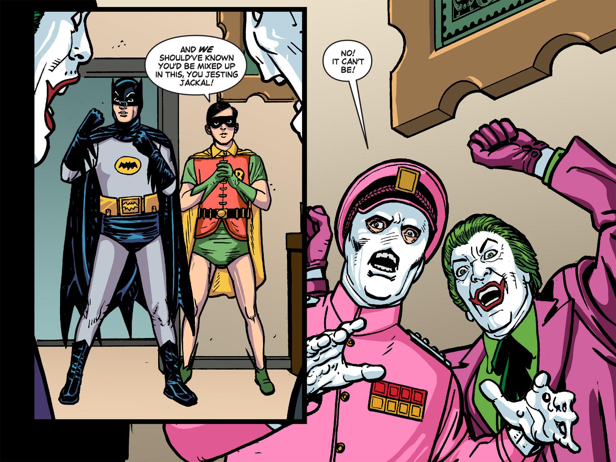 Read online Batman '66 Meets the Green Hornet [II] comic -  Issue #4 - 96