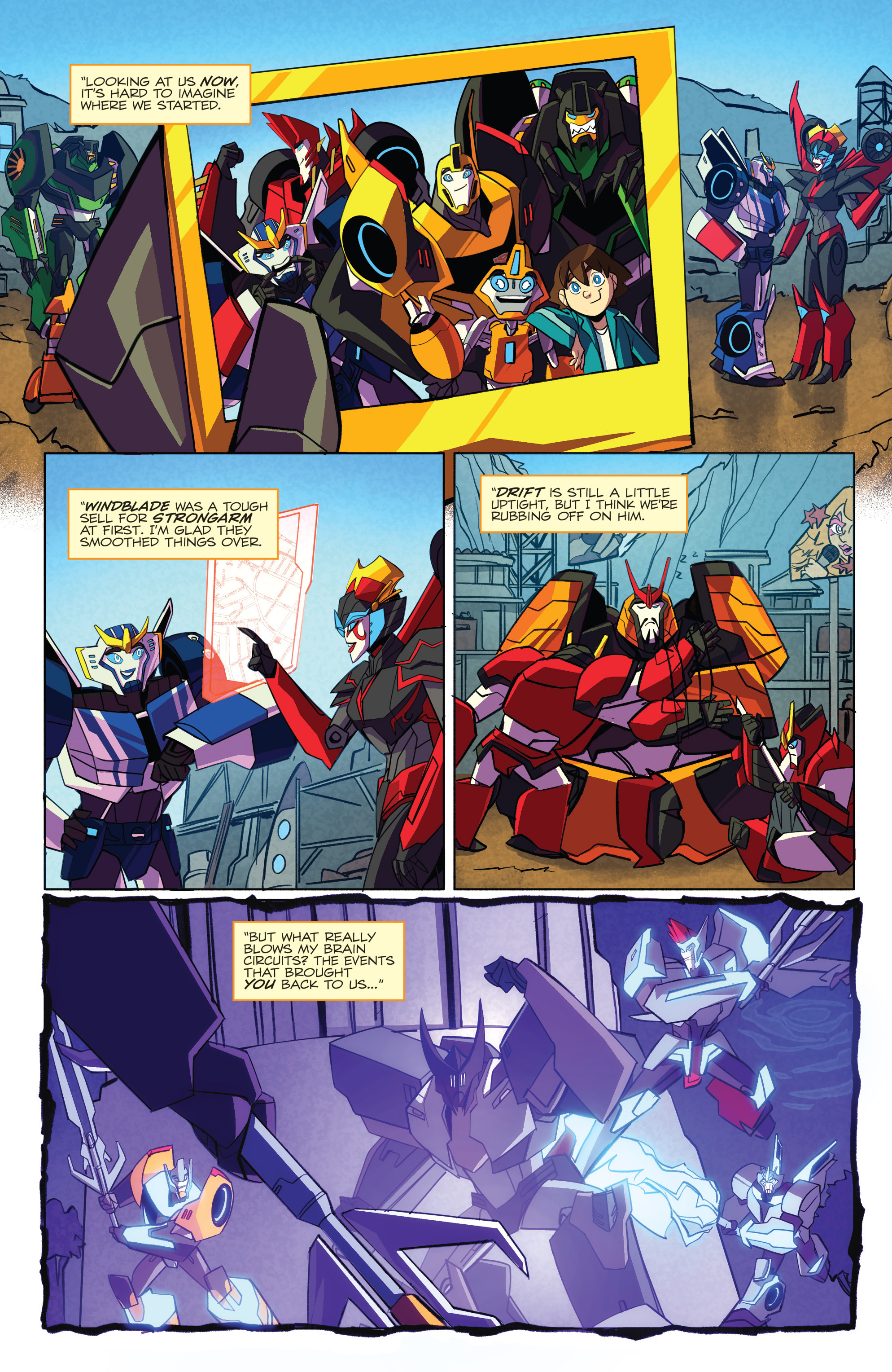 Read online Transformers: Robots In Disguise (2015) comic -  Issue #5 - 5