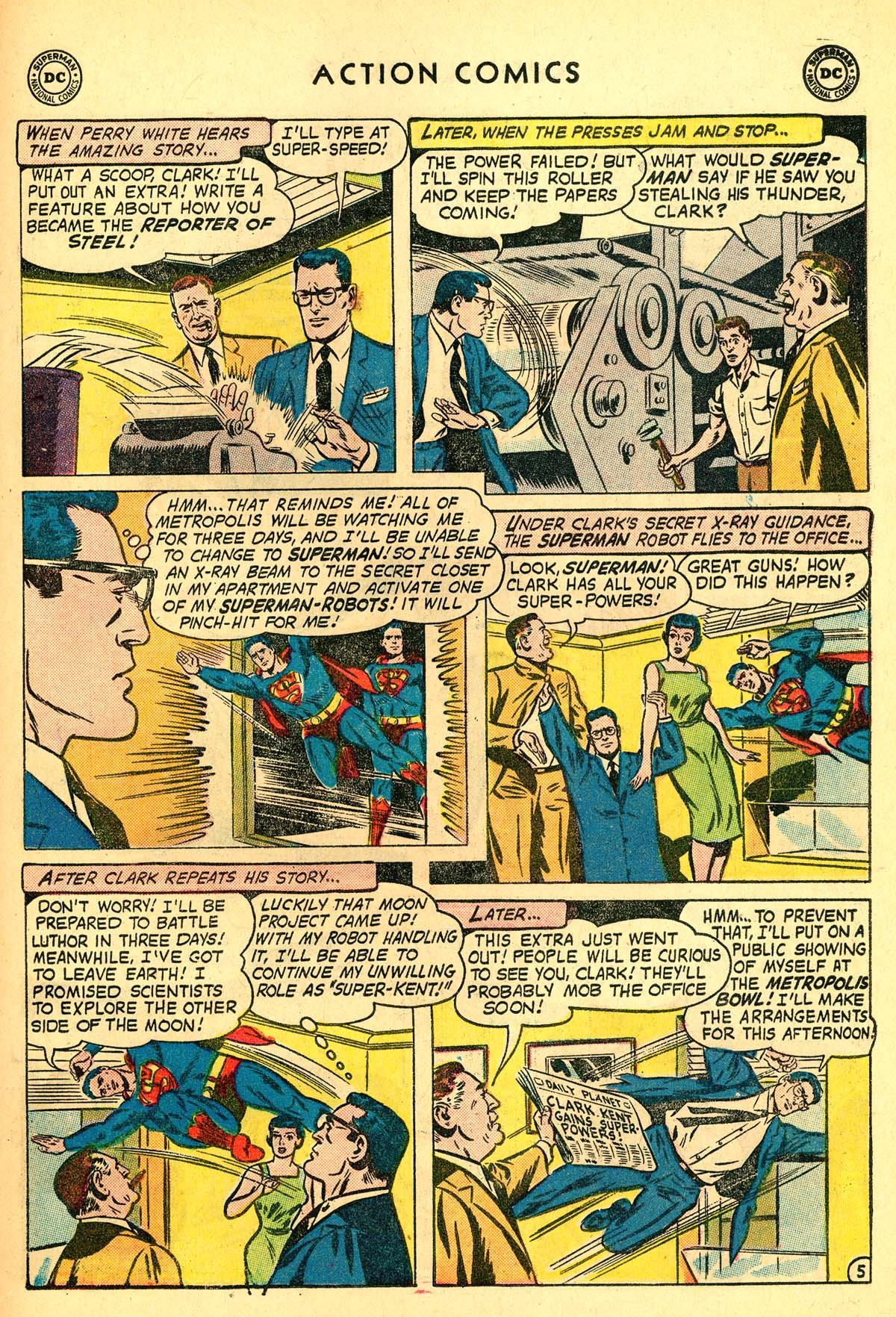 Read online Action Comics (1938) comic -  Issue #257 - 7