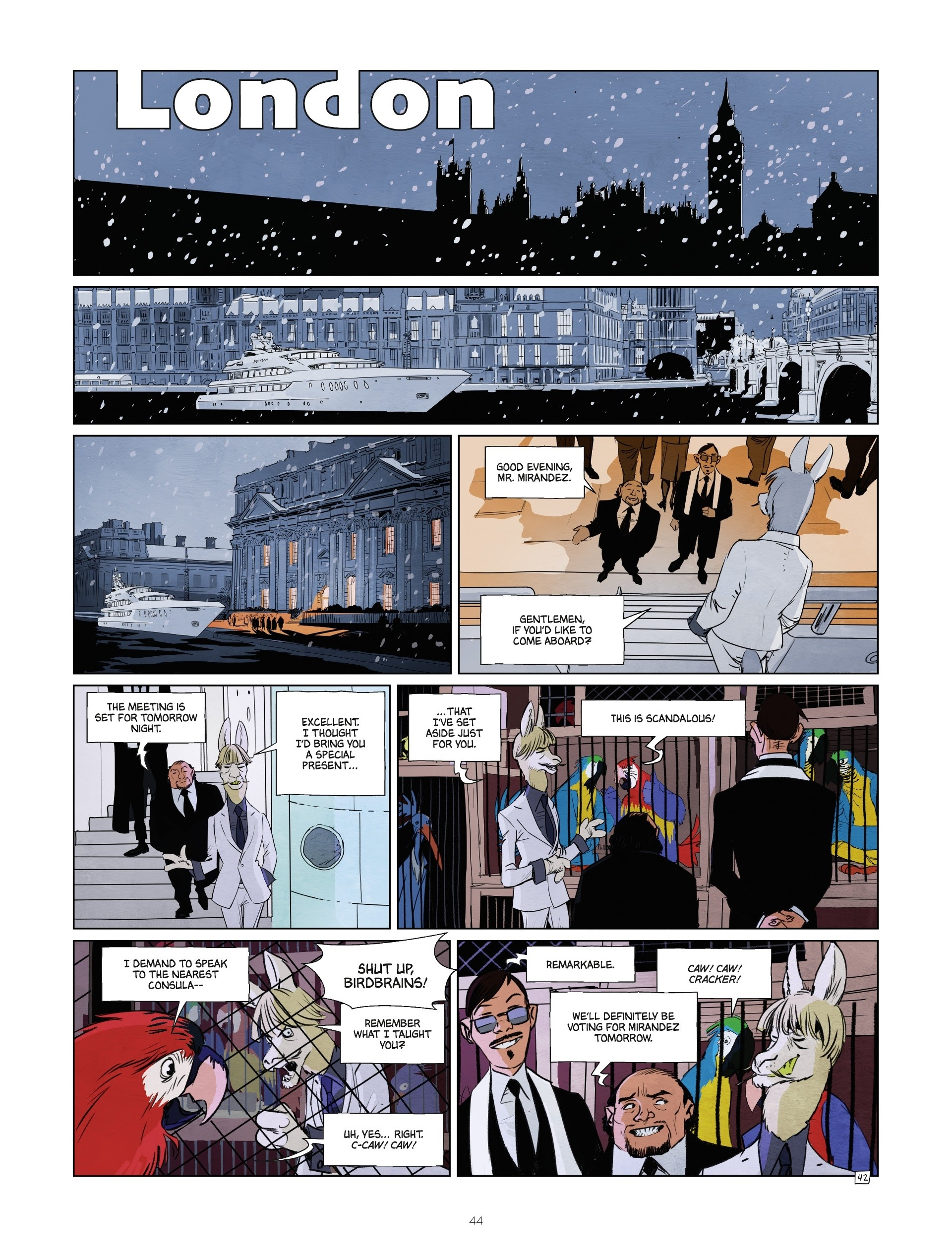 Read online Jack Wolfgang comic -  Issue #3 - 46