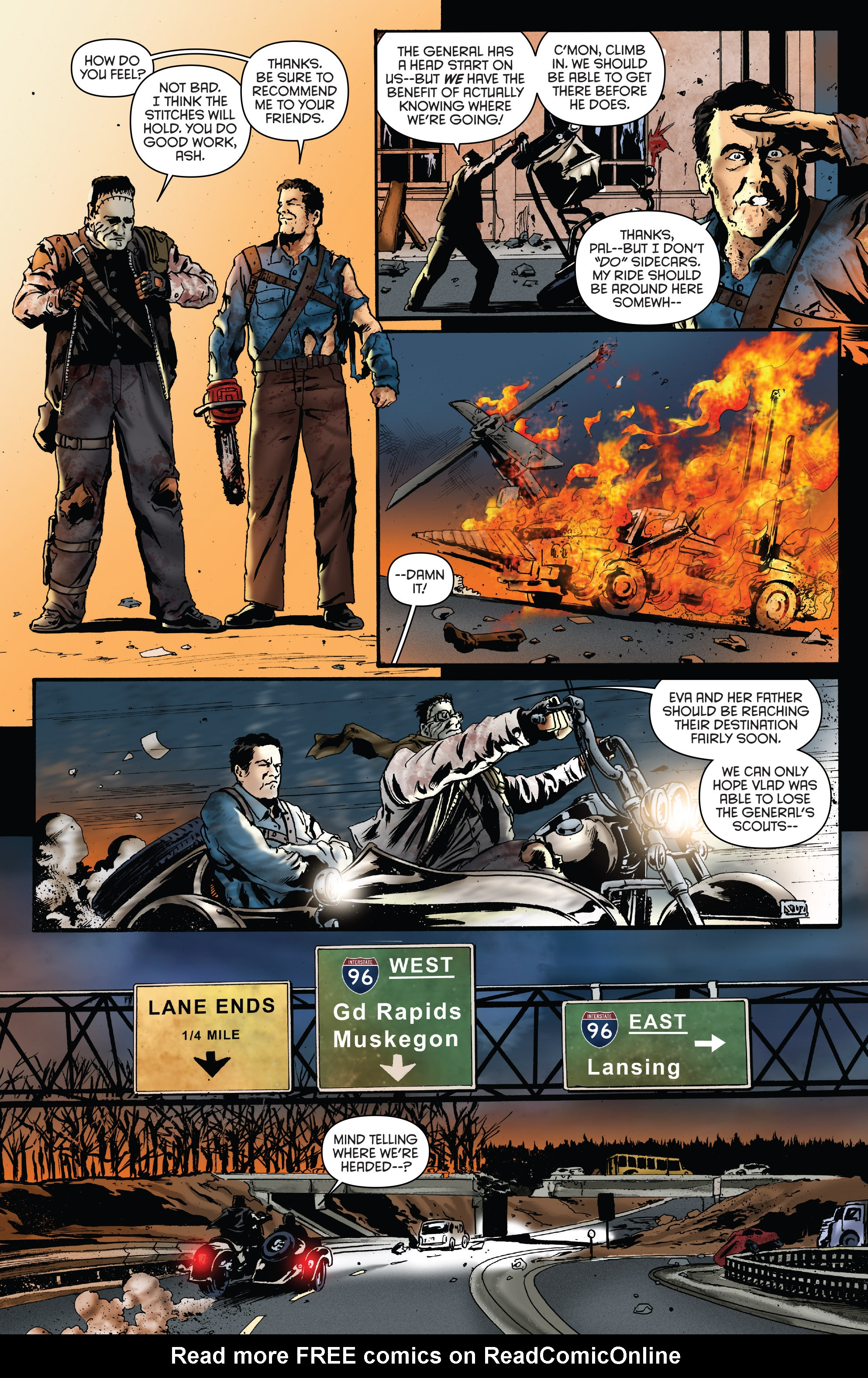 Read online Army of Darkness: Furious Road comic -  Issue #5 - 7