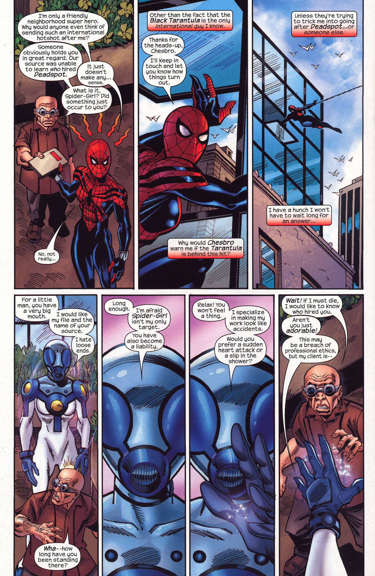 Read online Amazing Spider-Girl comic -  Issue #16 - 23