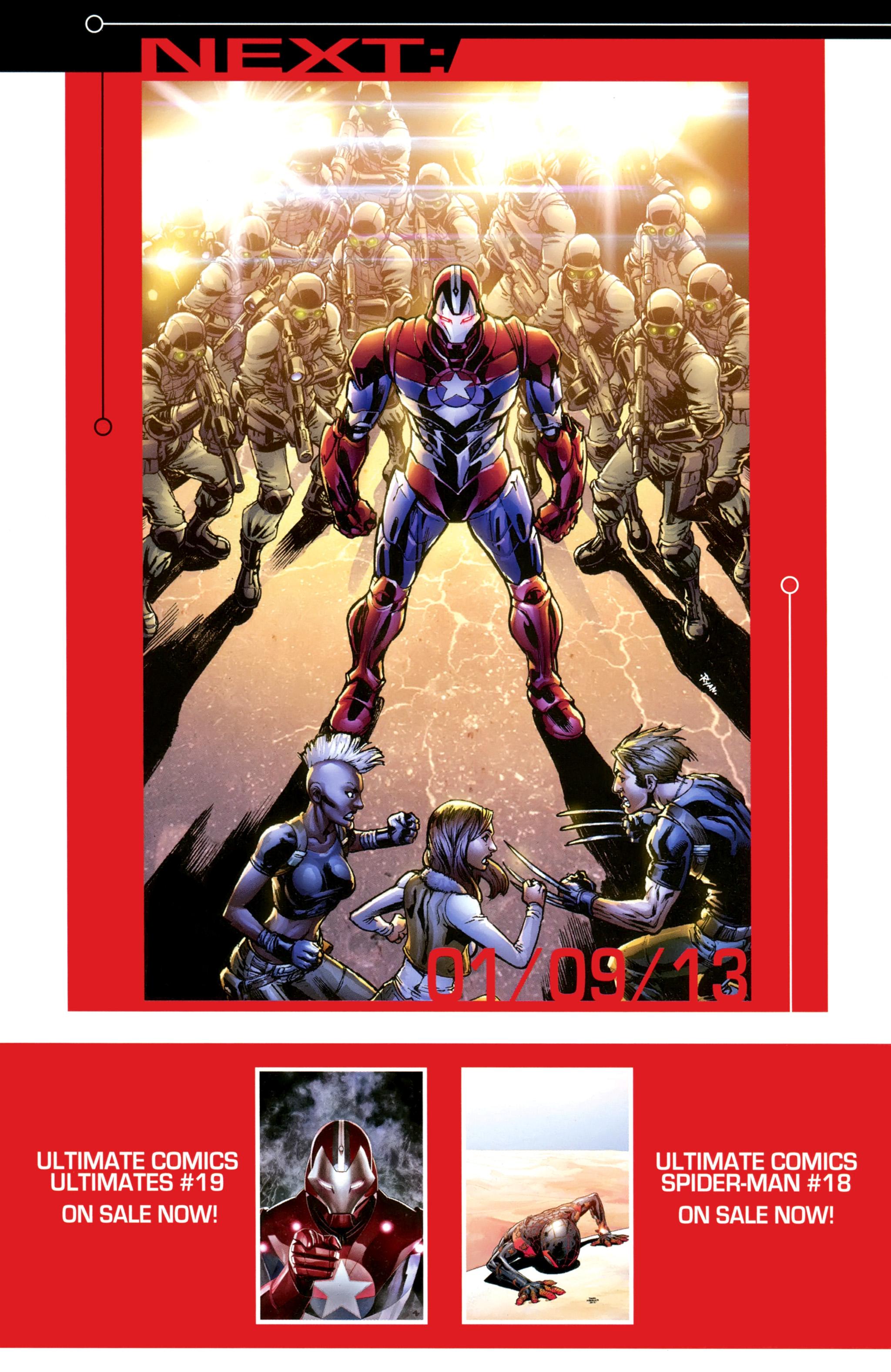 Read online Ultimate Comics X-Men comic -  Issue #20 - 23