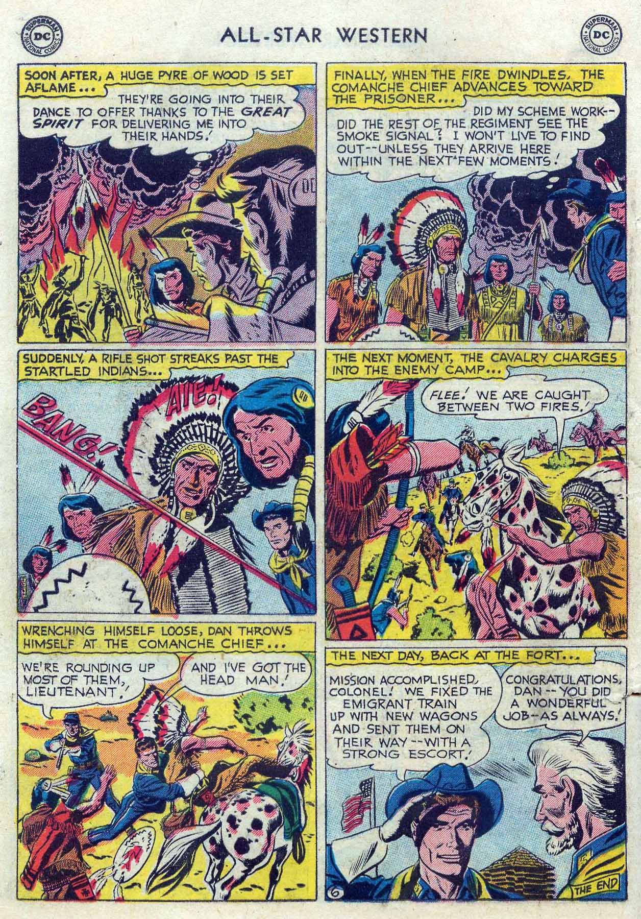 Read online All-Star Western (1951) comic -  Issue #85 - 24