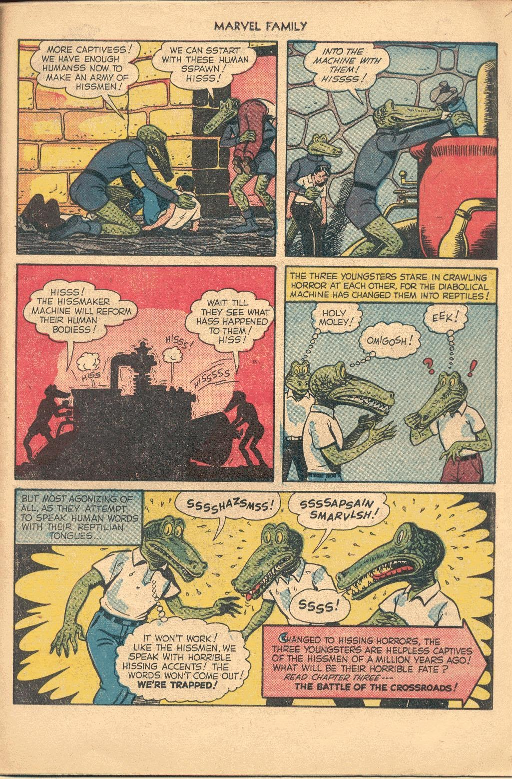 The Marvel Family issue 74 - Page 23