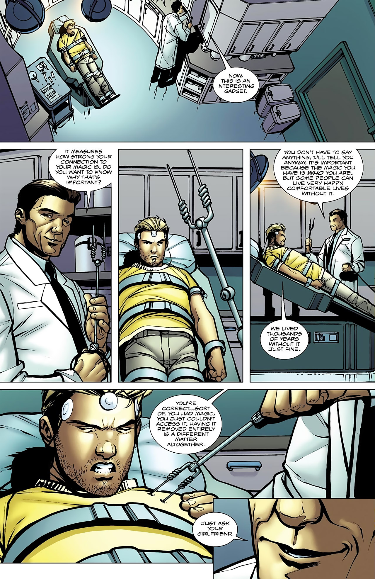 Read online Magus comic -  Issue #5 - 12