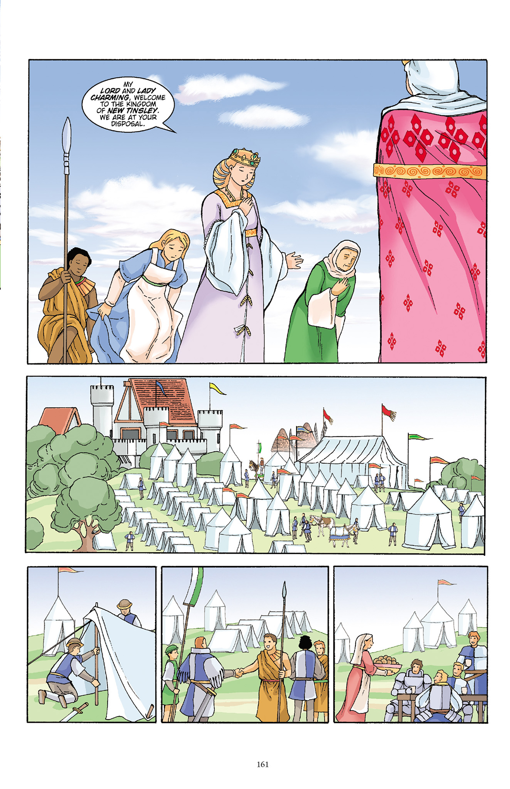 Read online Courageous Princess comic -  Issue # TPB 1 - 160