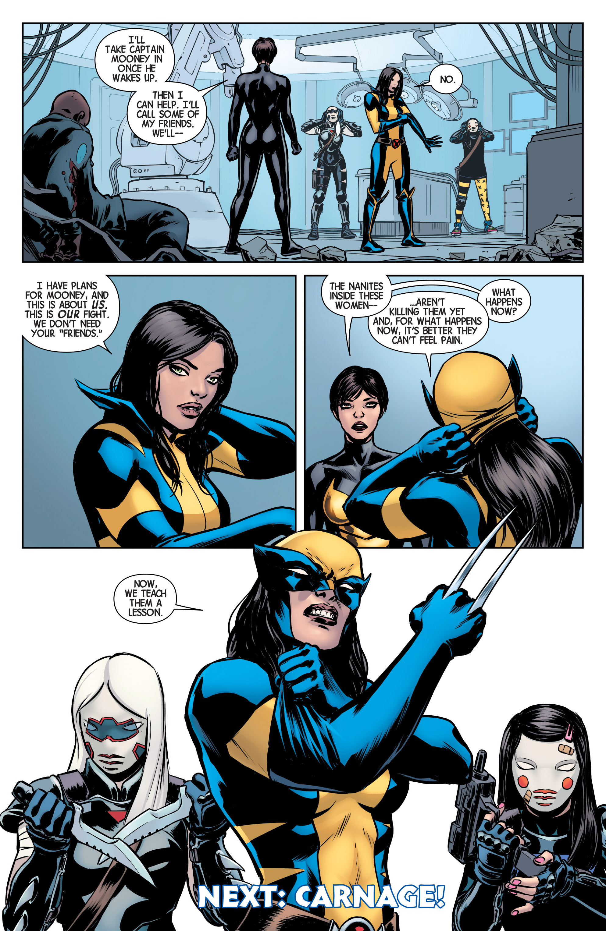 Read online All-New Wolverine (2016) comic -  Issue #5 - 22