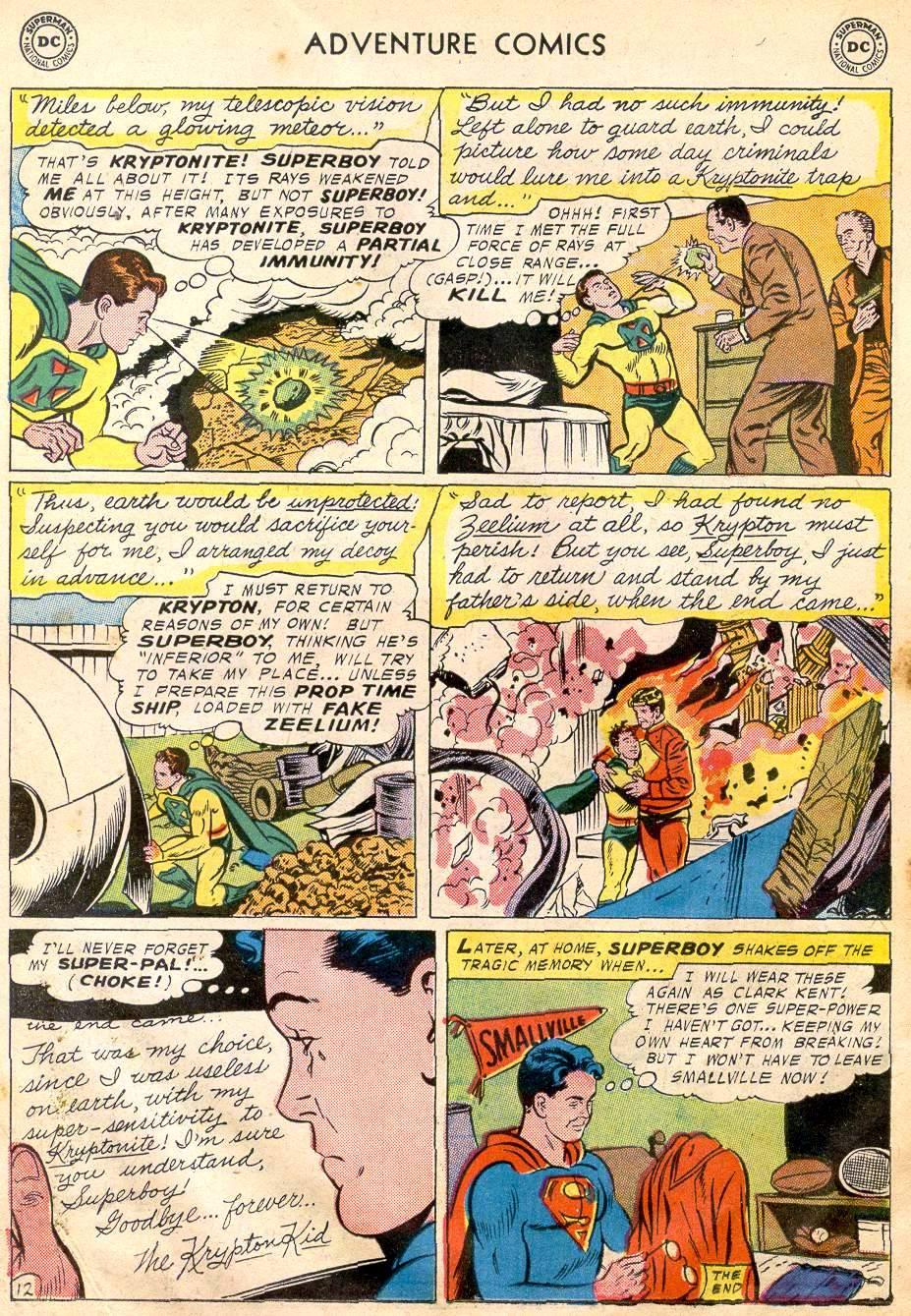 Read online Adventure Comics (1938) comic -  Issue #242 - 14