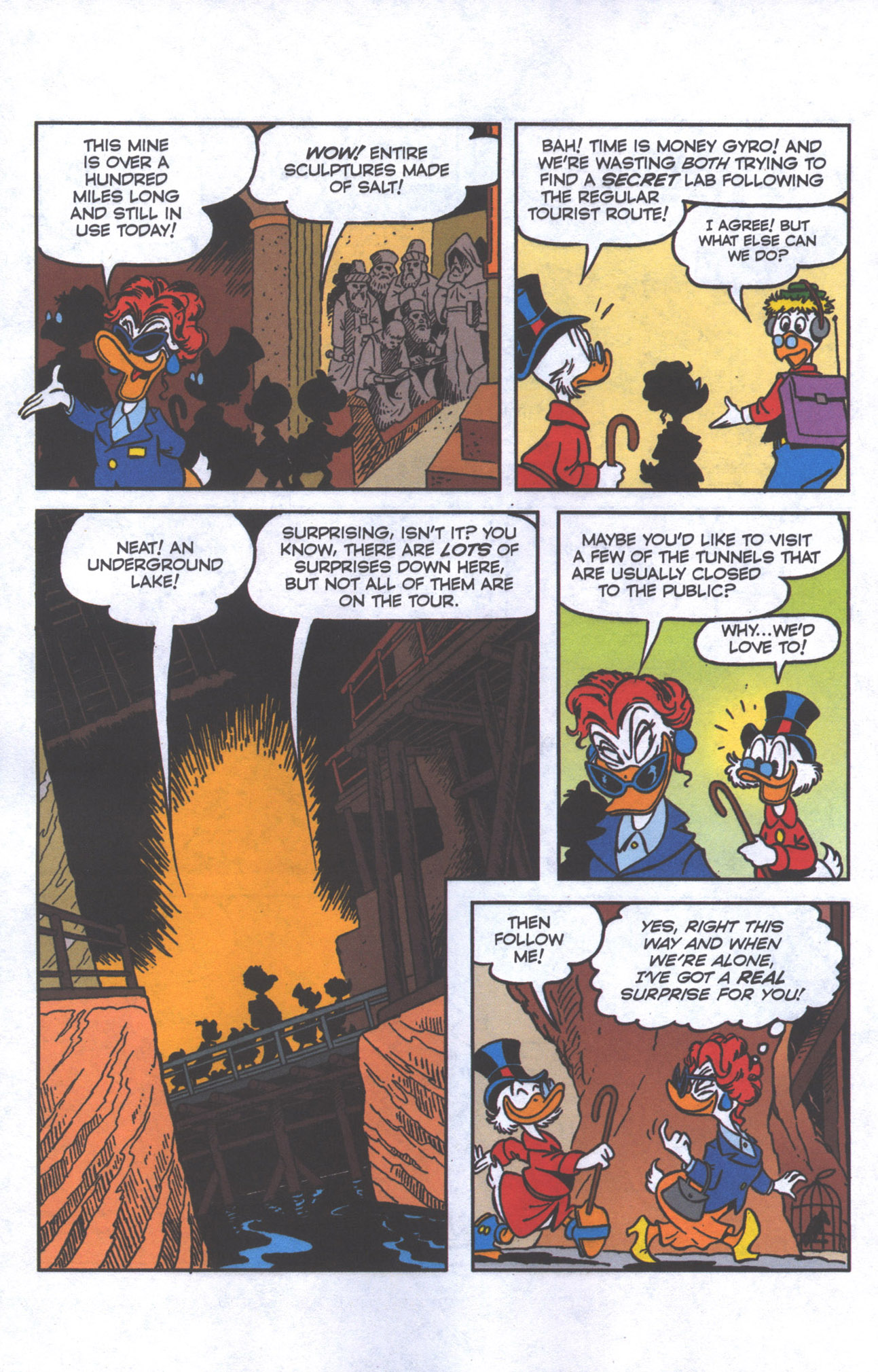 Read online Uncle Scrooge (1953) comic -  Issue #385 - 7