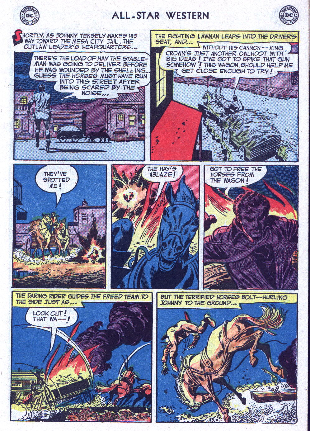 Read online All-Star Western (1951) comic -  Issue #71 - 7