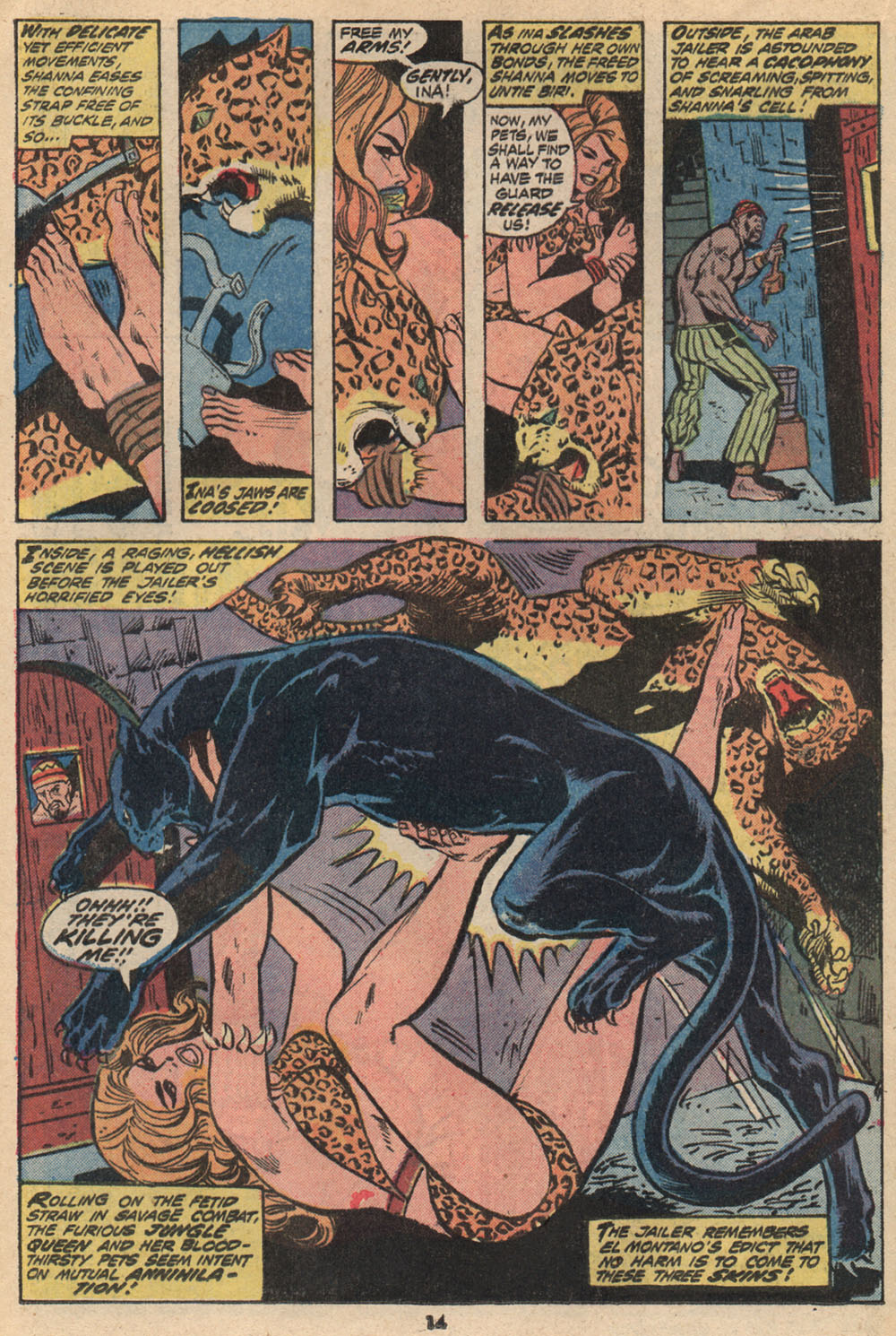 Read online Shanna, the She-Devil (1972) comic -  Issue #2 - 11