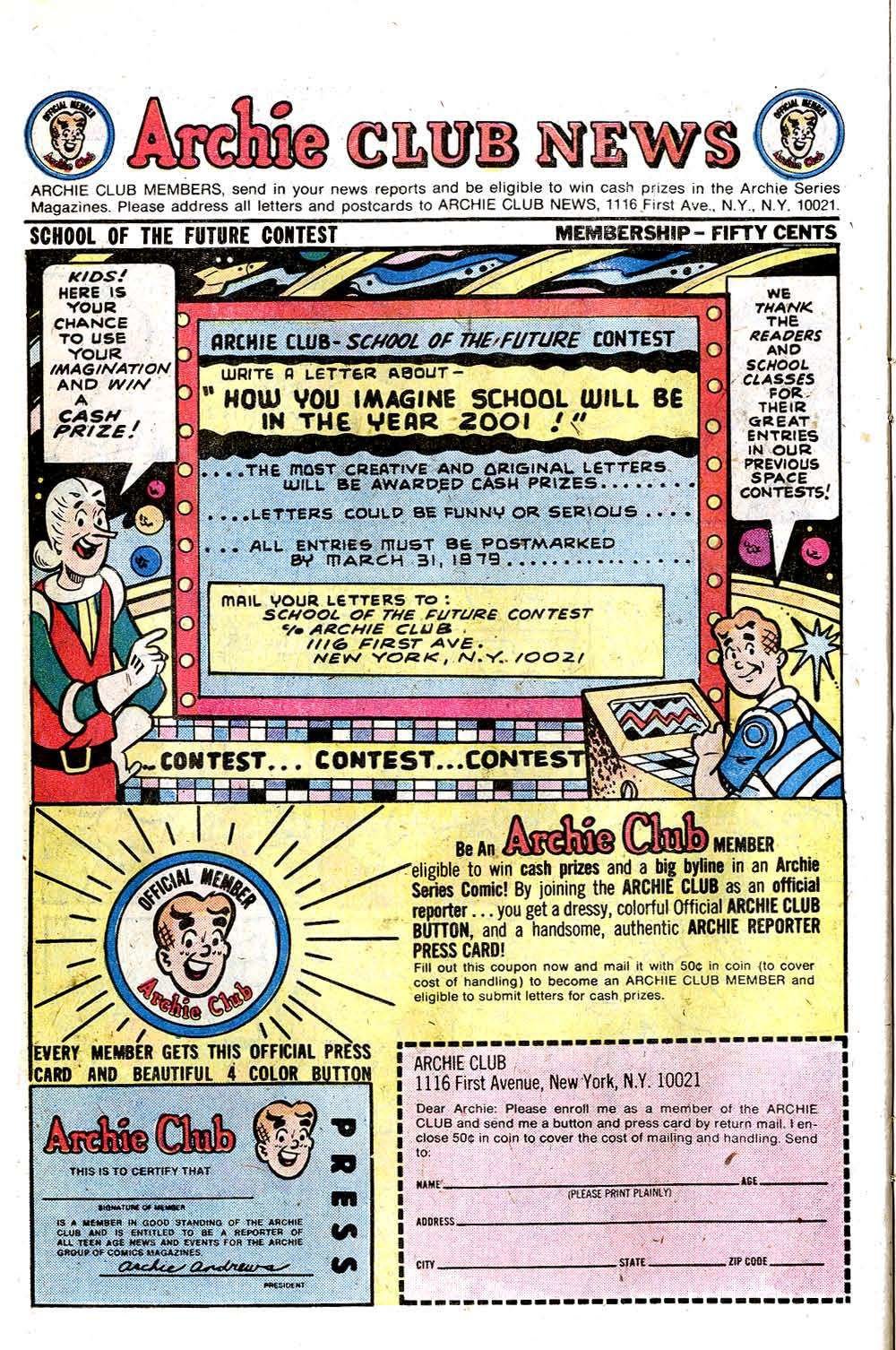 Read online Archie (1960) comic -  Issue #279 - 26