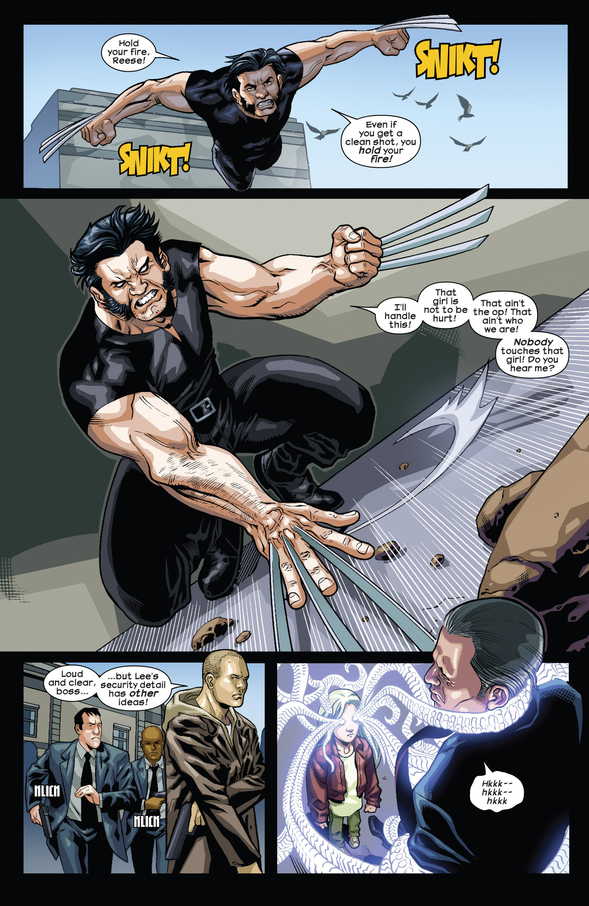 Read online Ultimate Comics Wolverine comic -  Issue #1 - 7