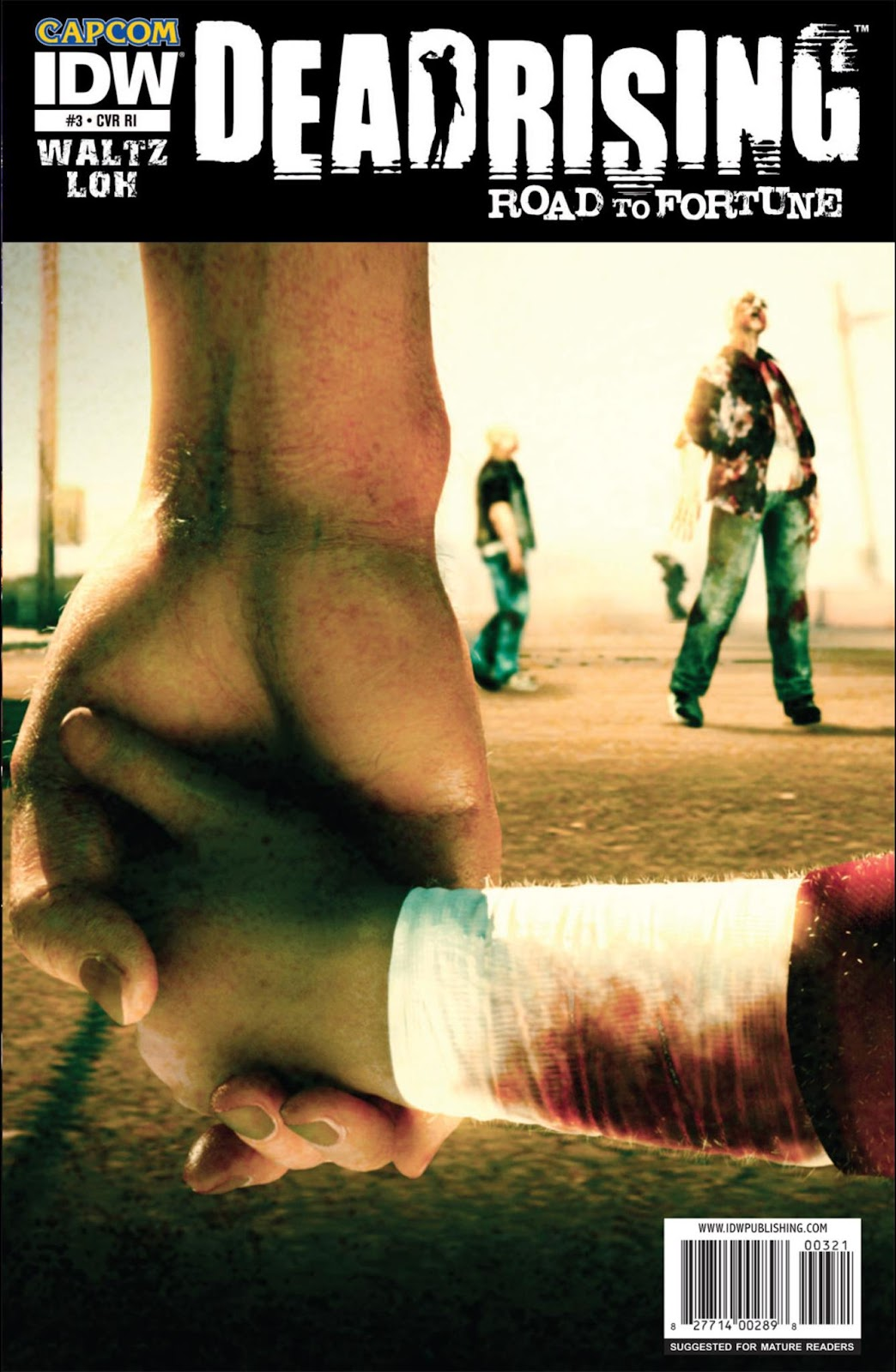 Read online Dead Rising: Road to Fortune comic -  Issue #3 - 2