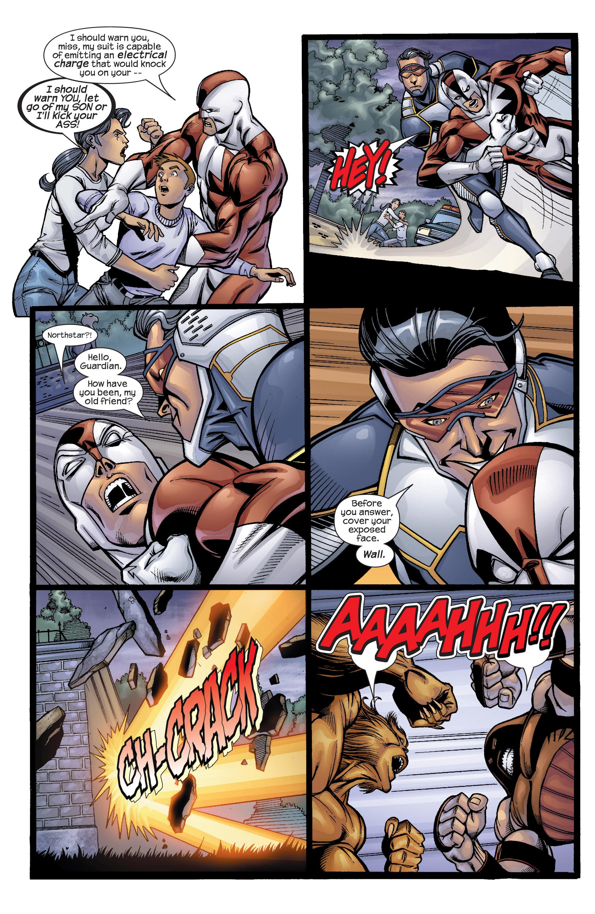 Read online Uncanny X-Men (1963) comic -  Issue #422 - 20