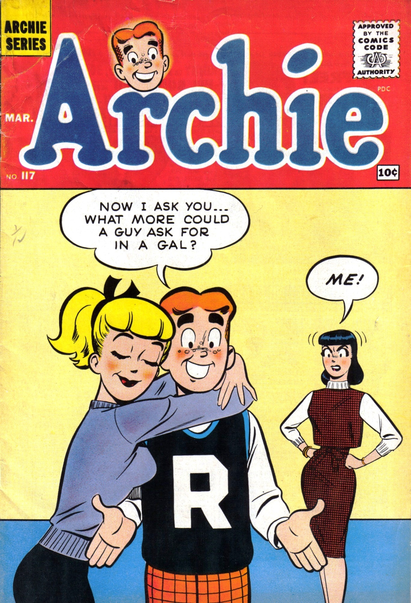 Read online Archie (1960) comic -  Issue #117 - 1