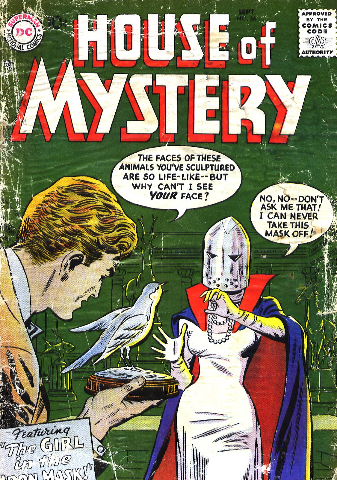House of Mystery (1951) issue 66 - Page 1