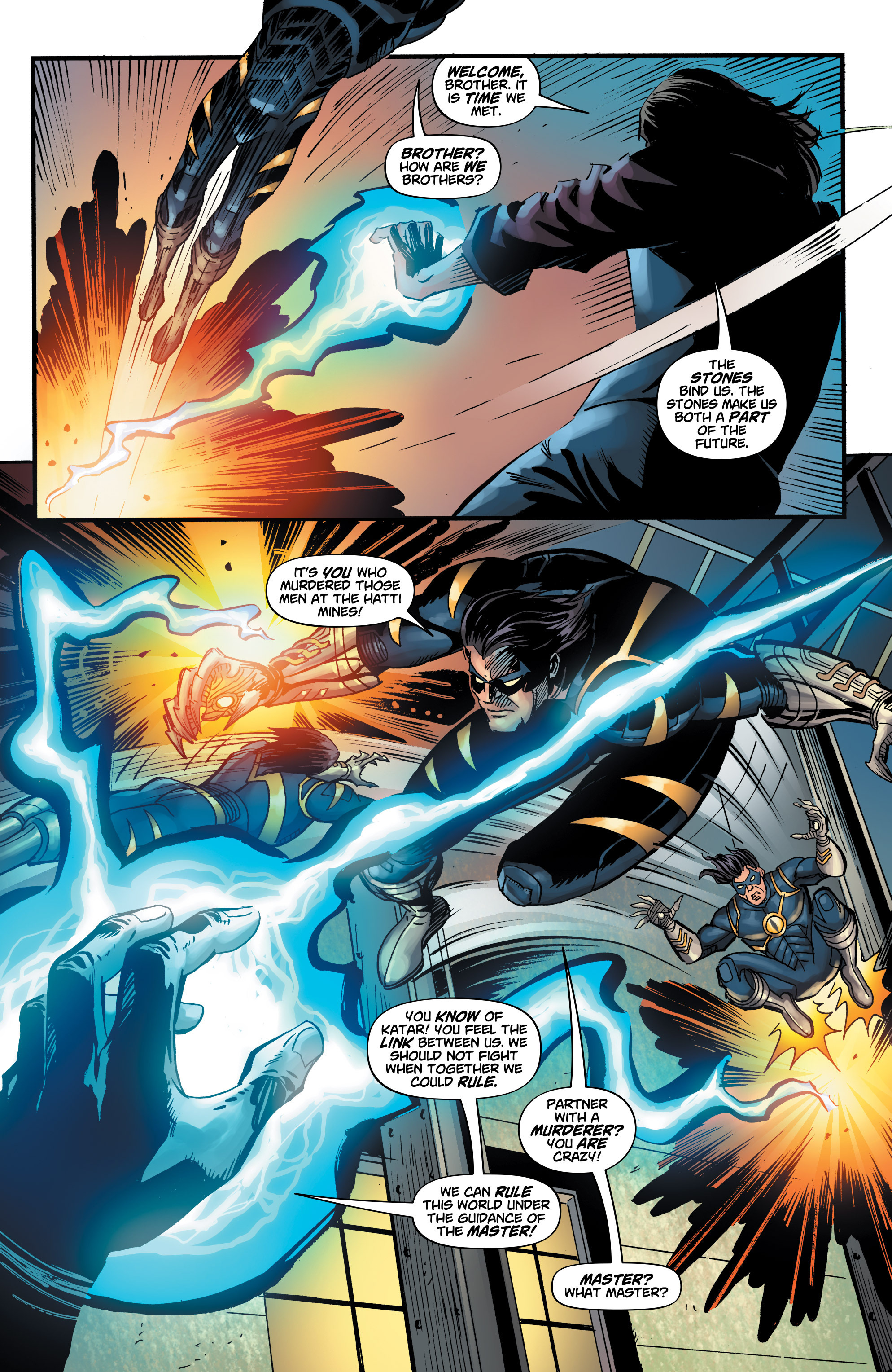 Read online Shadow Tiger comic -  Issue #3 - 20