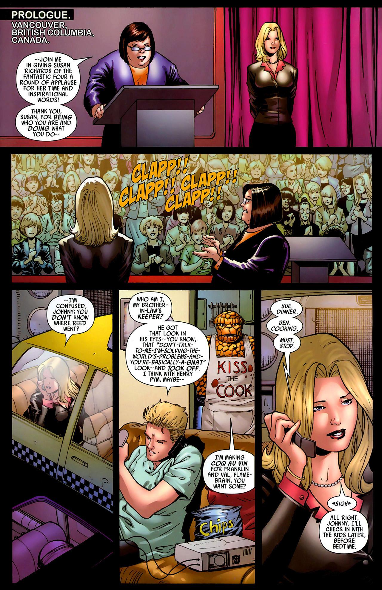 Read online Secret Invasion: Fantastic Four comic -  Issue #1 - 2