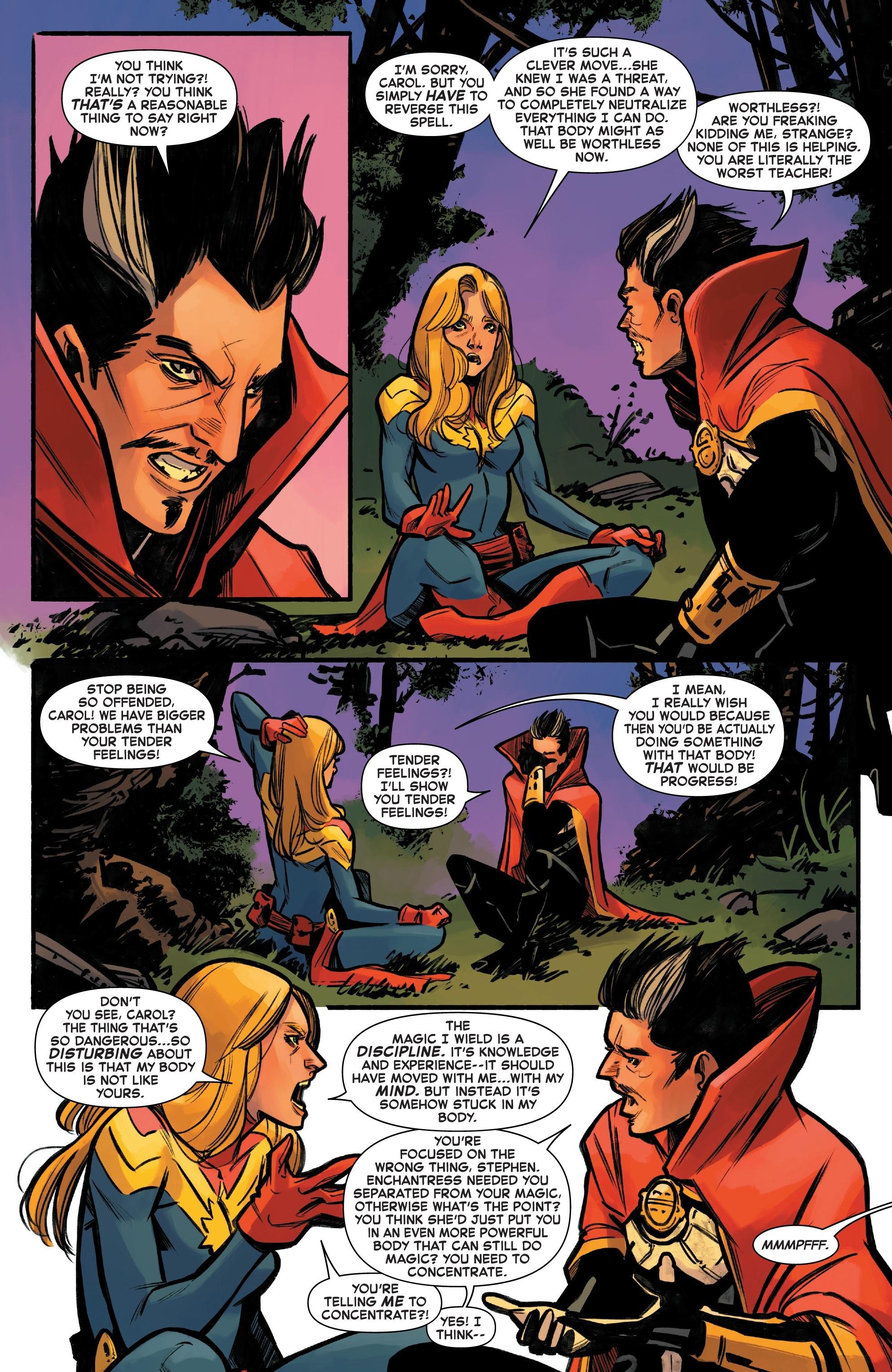Read online Captain Marvel (2019) comic -  Issue #6 - 20