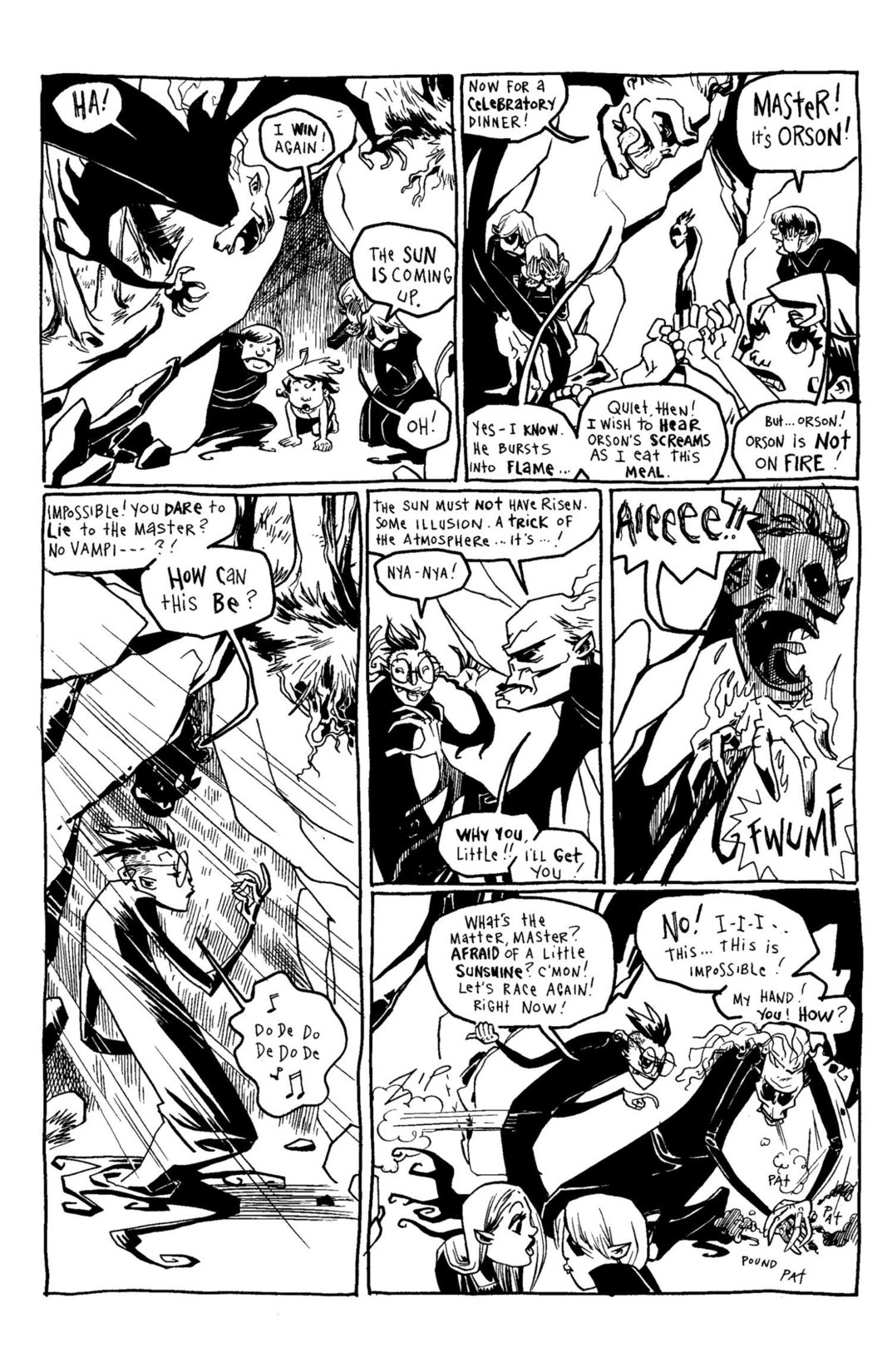 Read online Scary Godmother Comic Book Stories comic -  Issue # TPB - 220