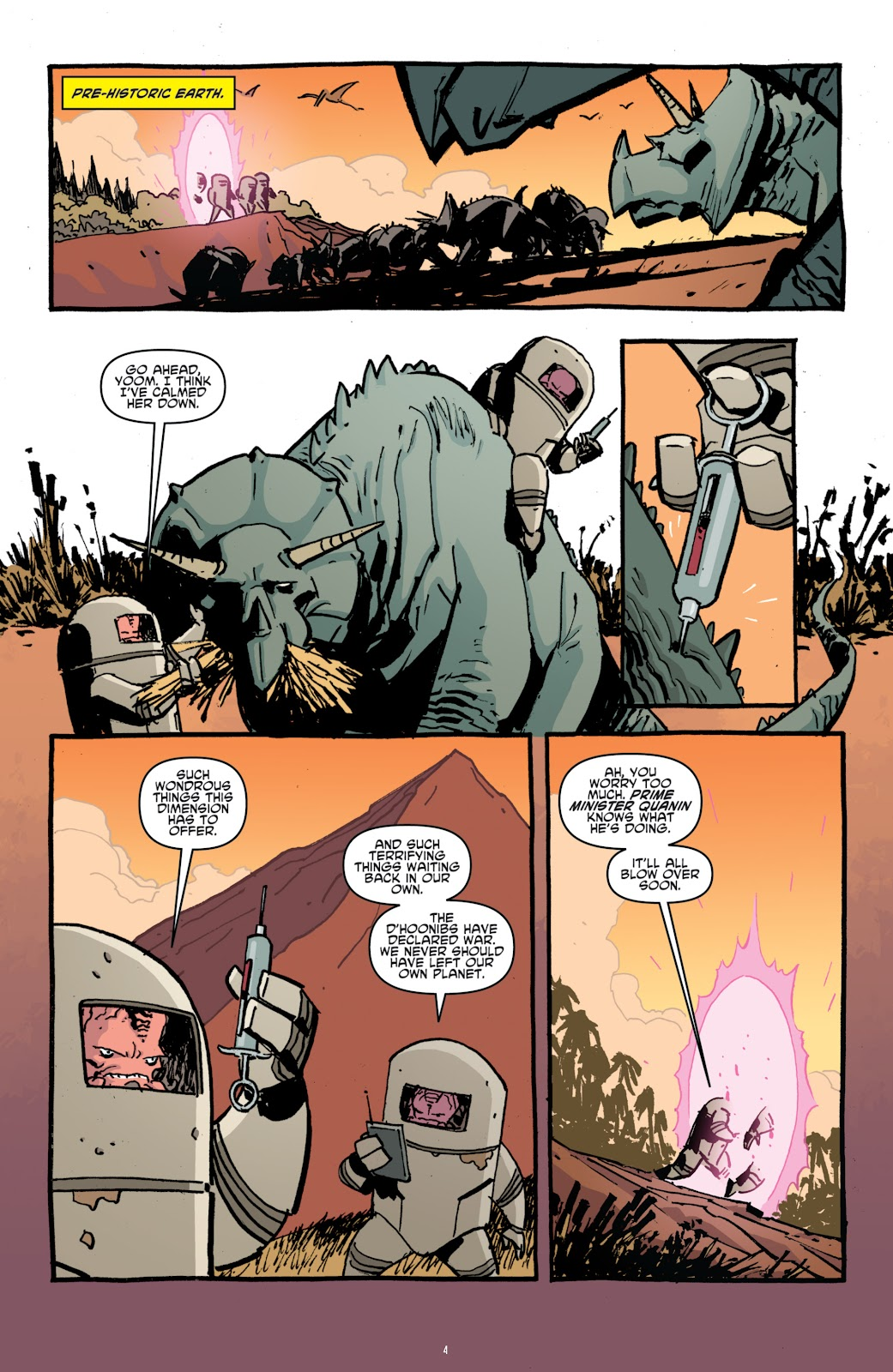 Read online Teenage Mutant Ninja Turtles: The IDW Collection comic -  Issue # TPB 4 (Part 1) - 33