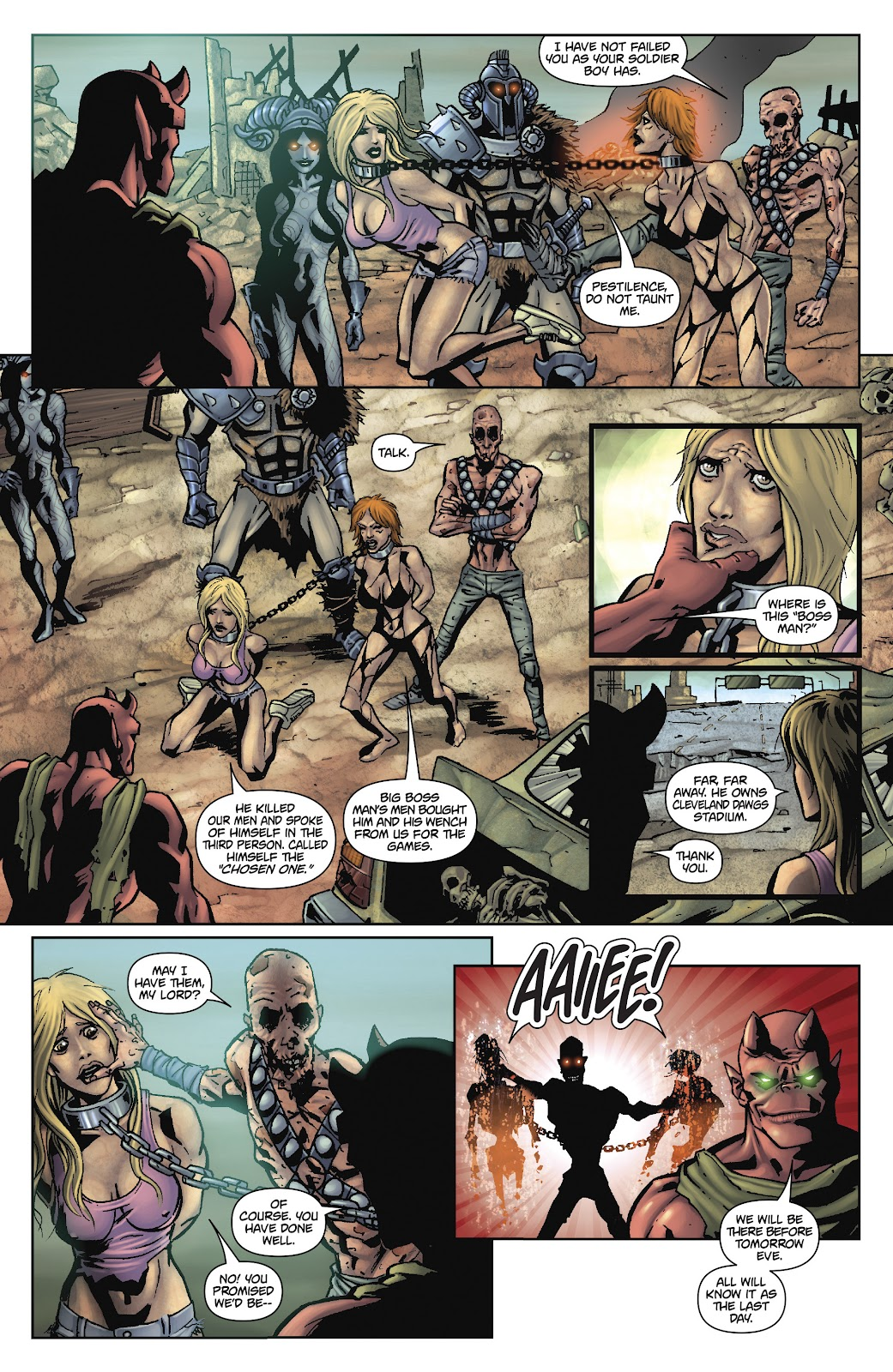 Army of Darkness: The Long Road Home issue TPB - Page 72