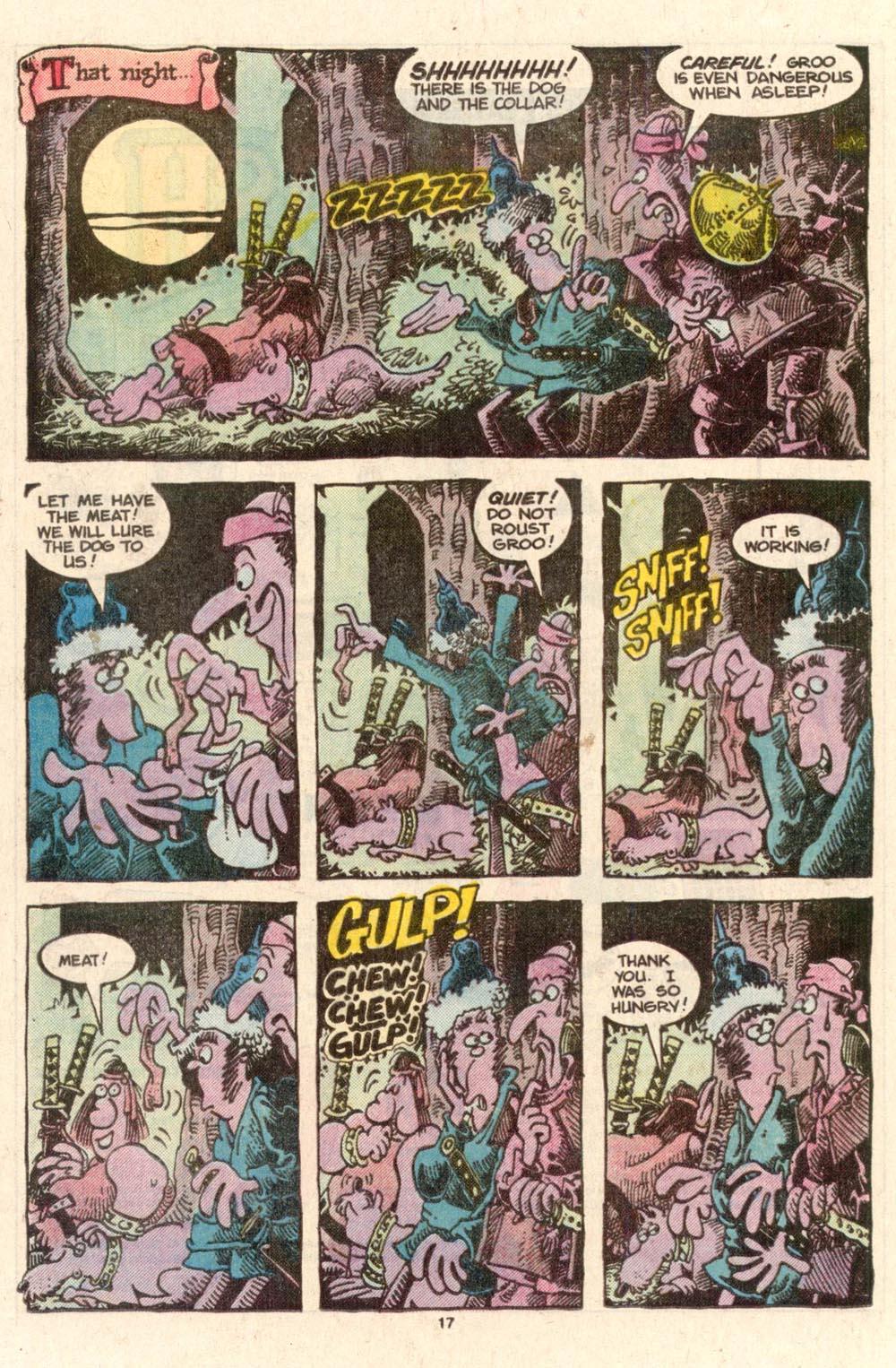 Read online Sergio Aragonés Groo the Wanderer comic -  Issue #39 - 17