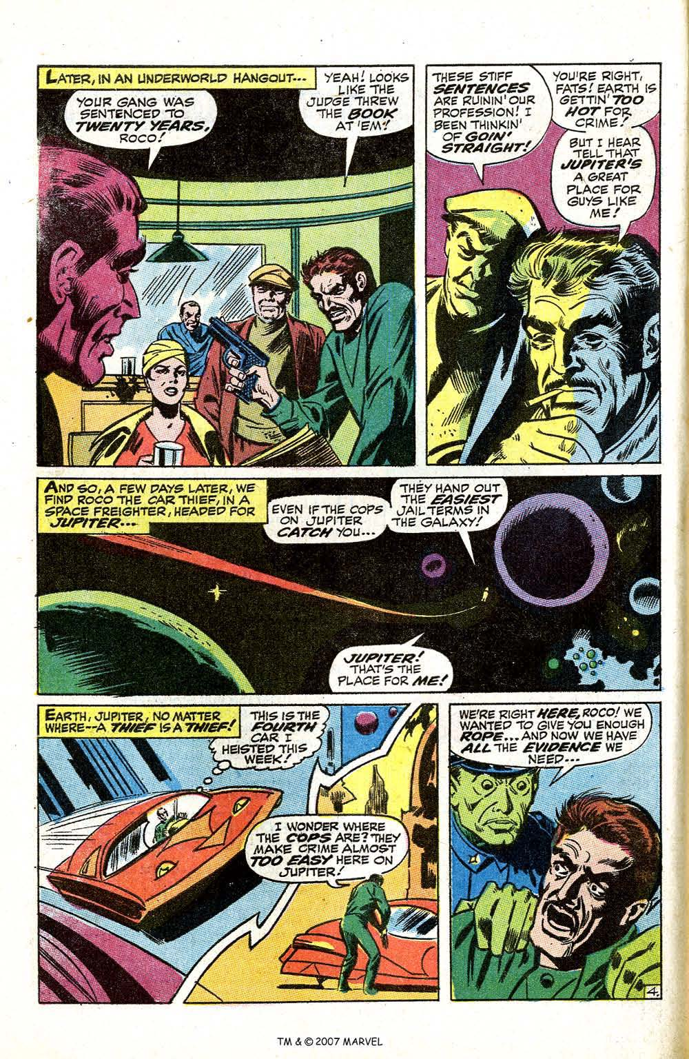 Read online Silver Surfer (1968) comic -  Issue #5 - 54