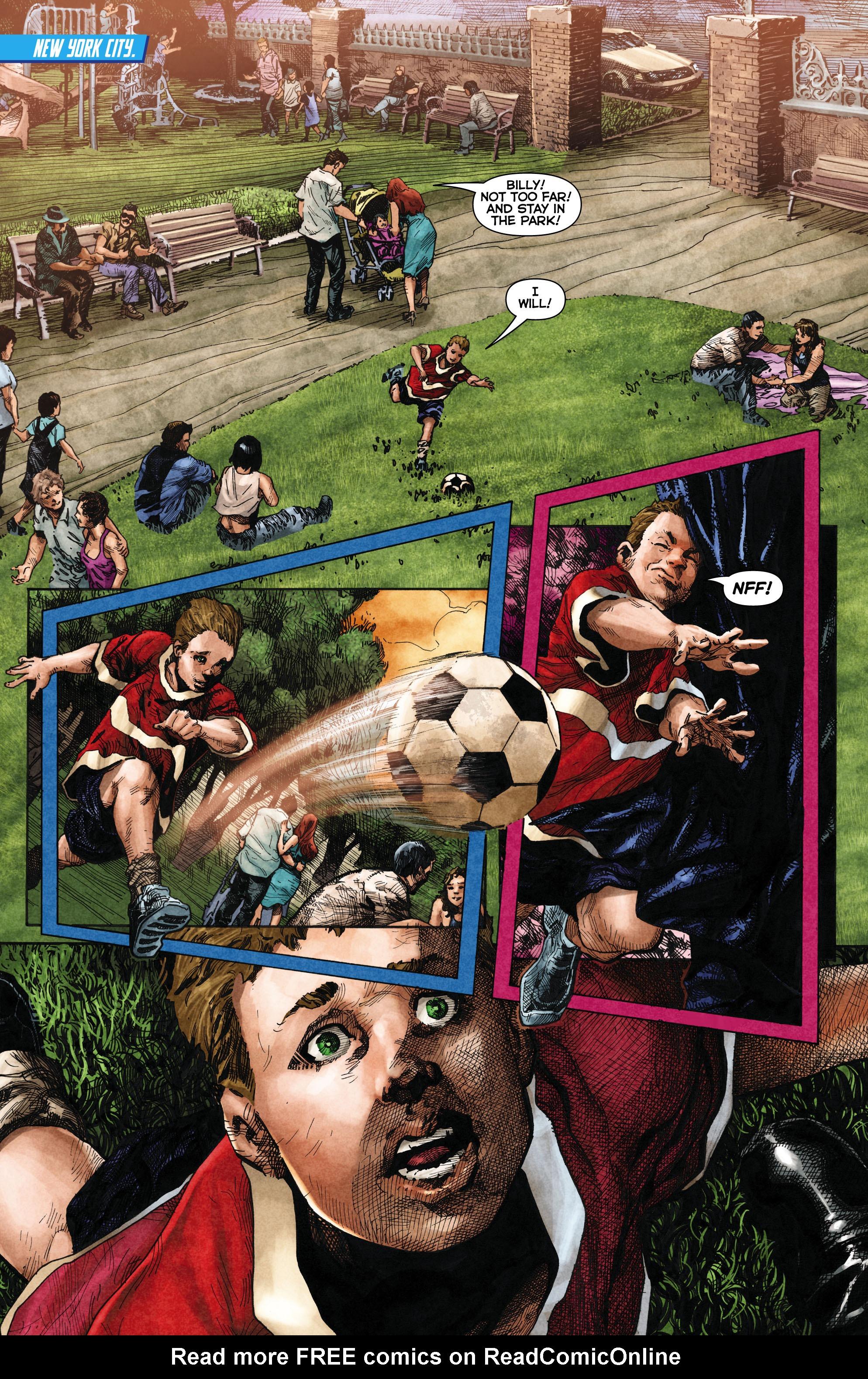 Read online Trinity of Sin: The Phantom Stranger comic -  Issue #1 - 2