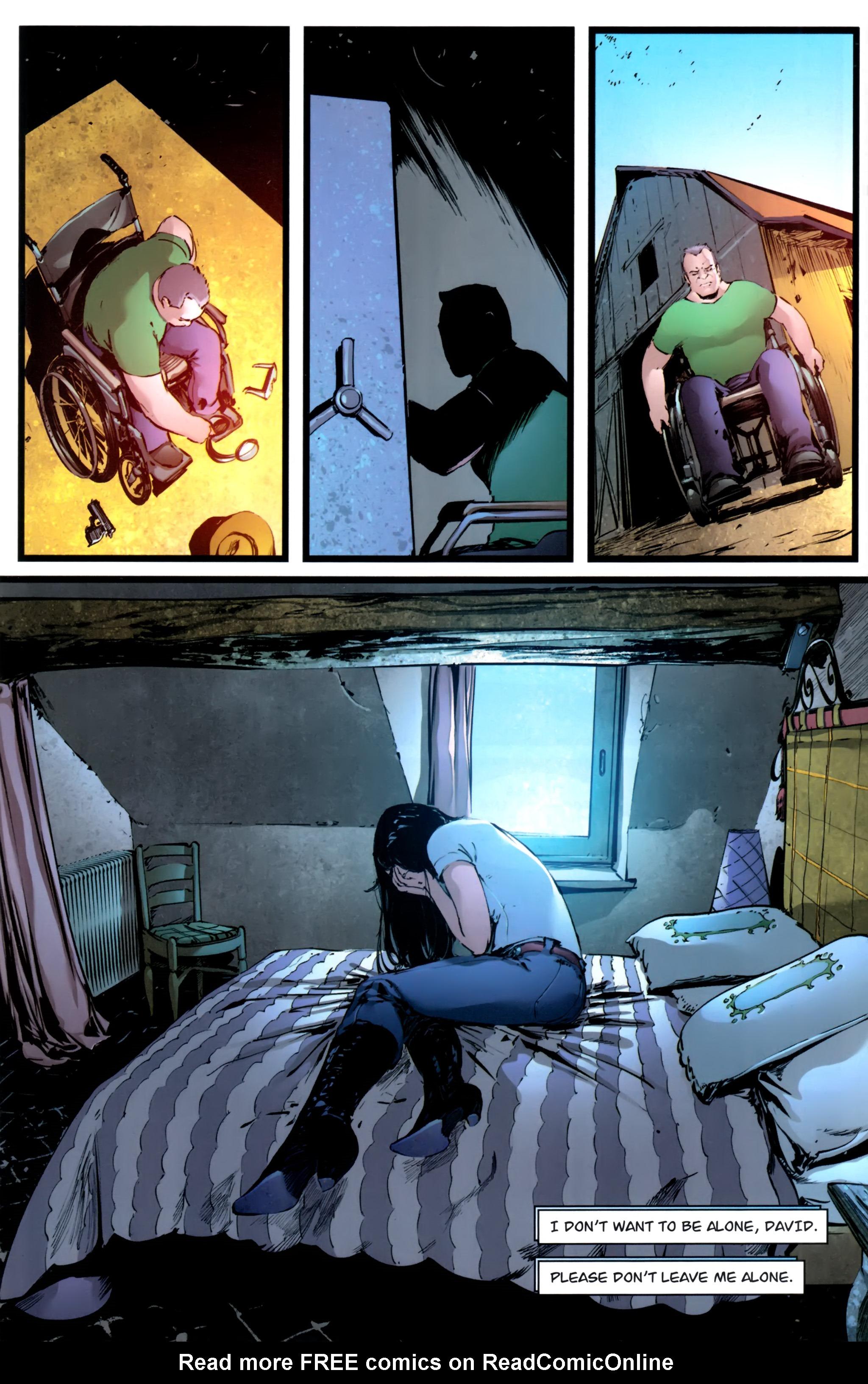 Read online Astria comic -  Issue #1 - 21