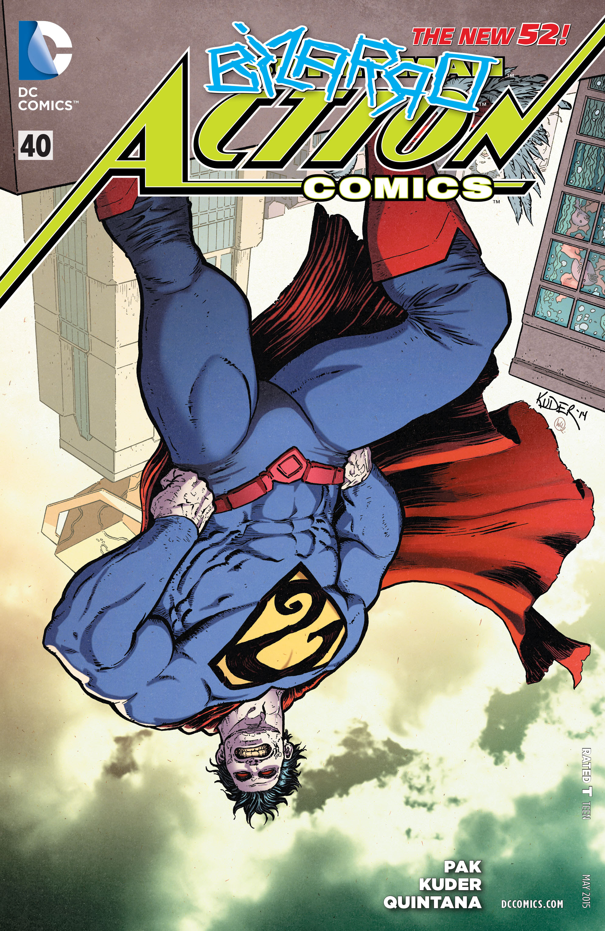 Read online Action Comics (2011) comic -  Issue #40 - 1