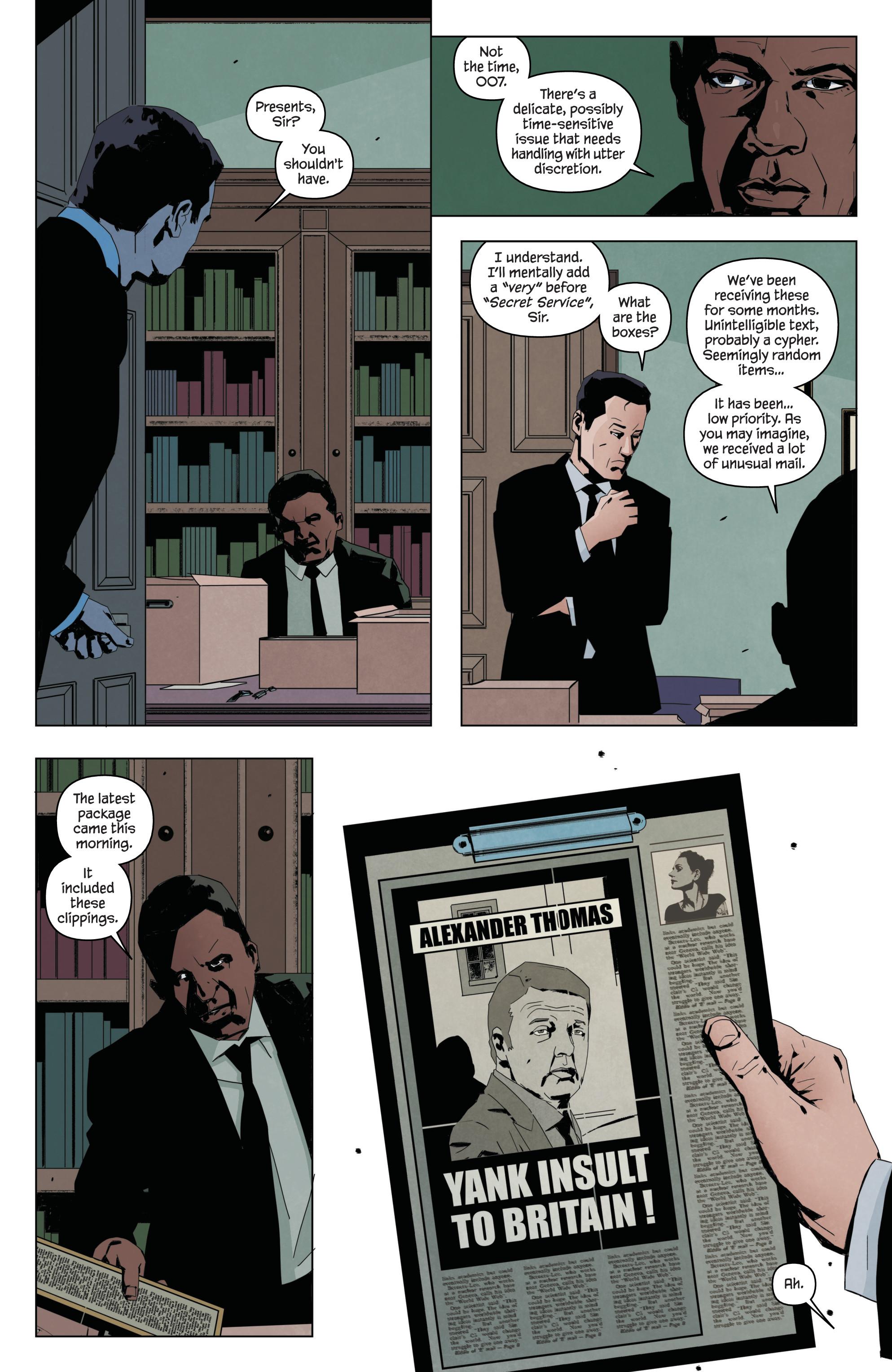 Read online James Bond: Service comic -  Issue # Full - 9
