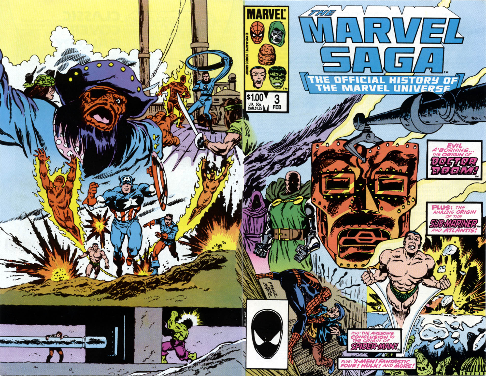 Marvel Saga: The Official History of the Marvel Universe 3 Page 1