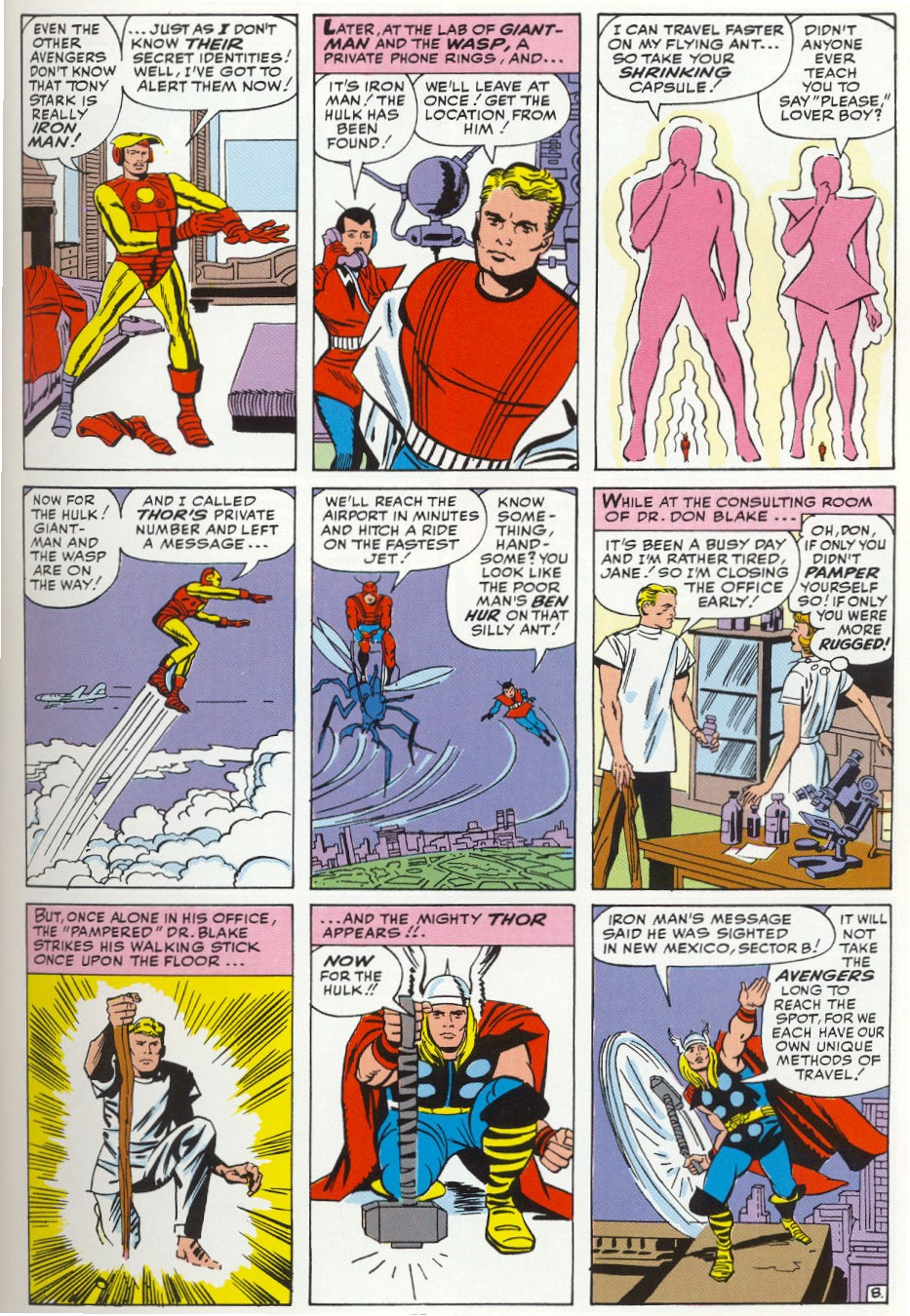 The Avengers (1963) 3 Page 8