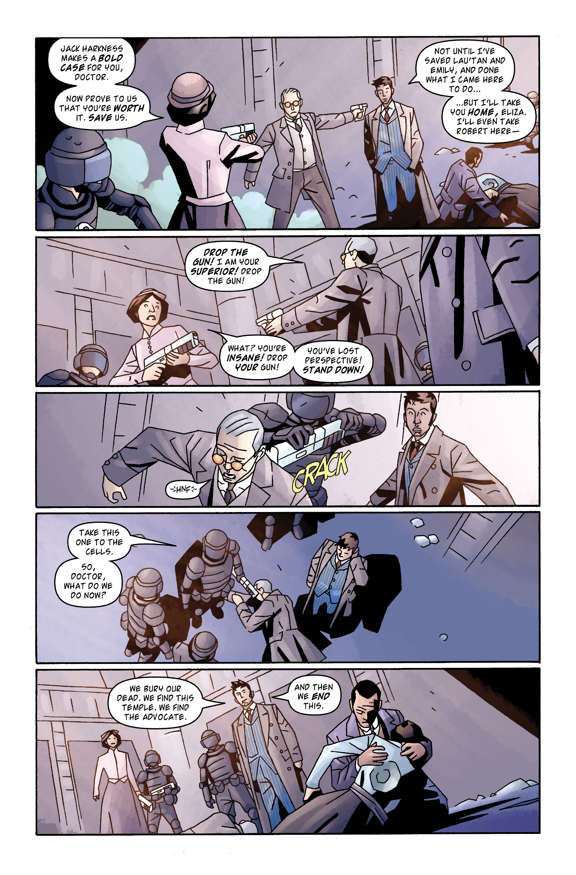 Read online Doctor Who: The Tenth Doctor Archives comic -  Issue #31 - 21