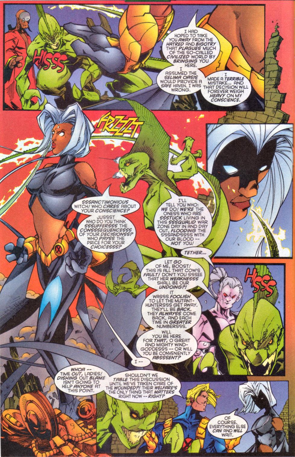 Read online Uncanny X-Men (1963) comic -  Issue # _Annual 1997 - 11