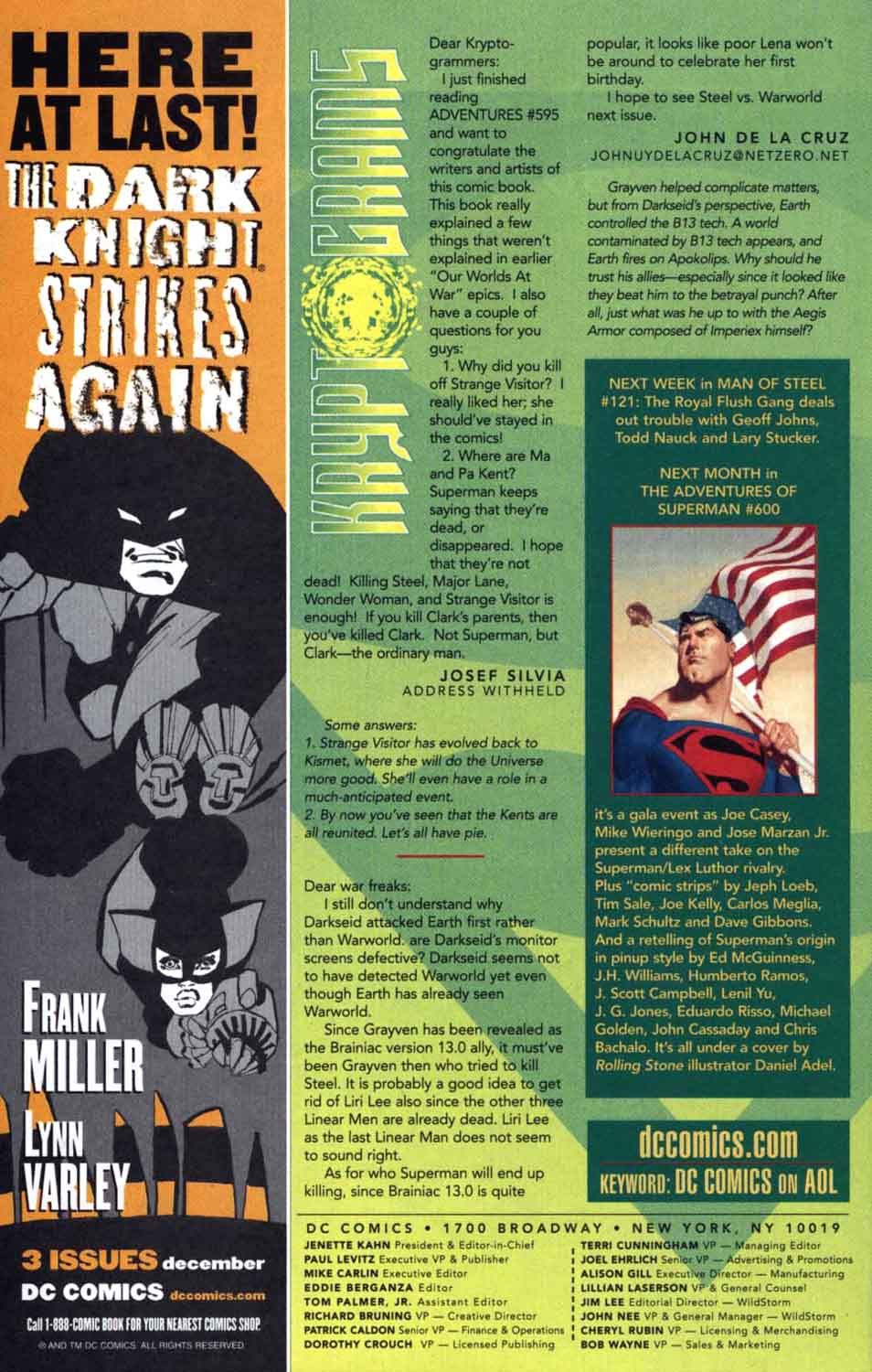 Read online Adventures of Superman (1987) comic -  Issue #599 - 24
