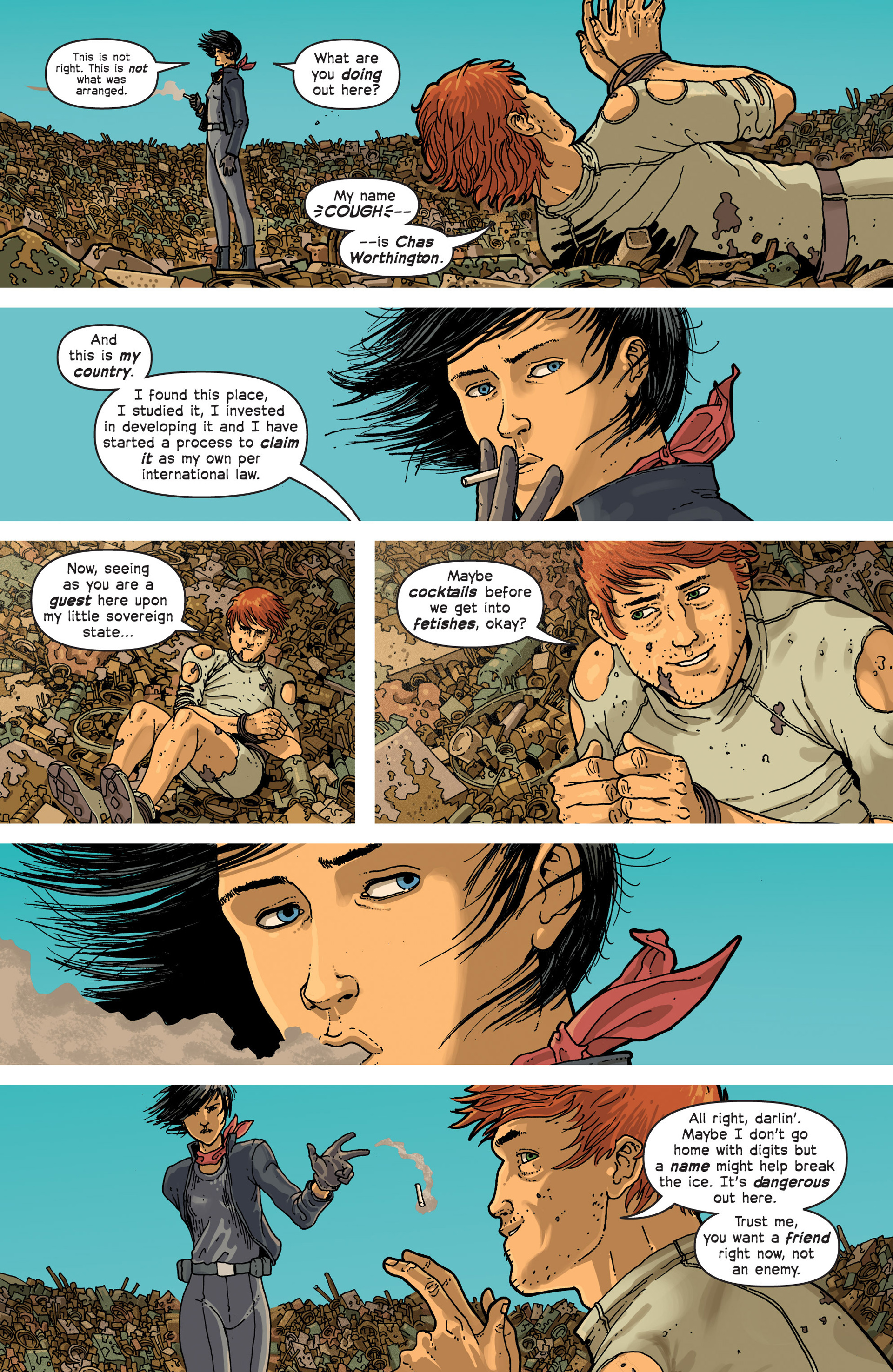 Read online Great Pacific comic -  Issue #3 - 20