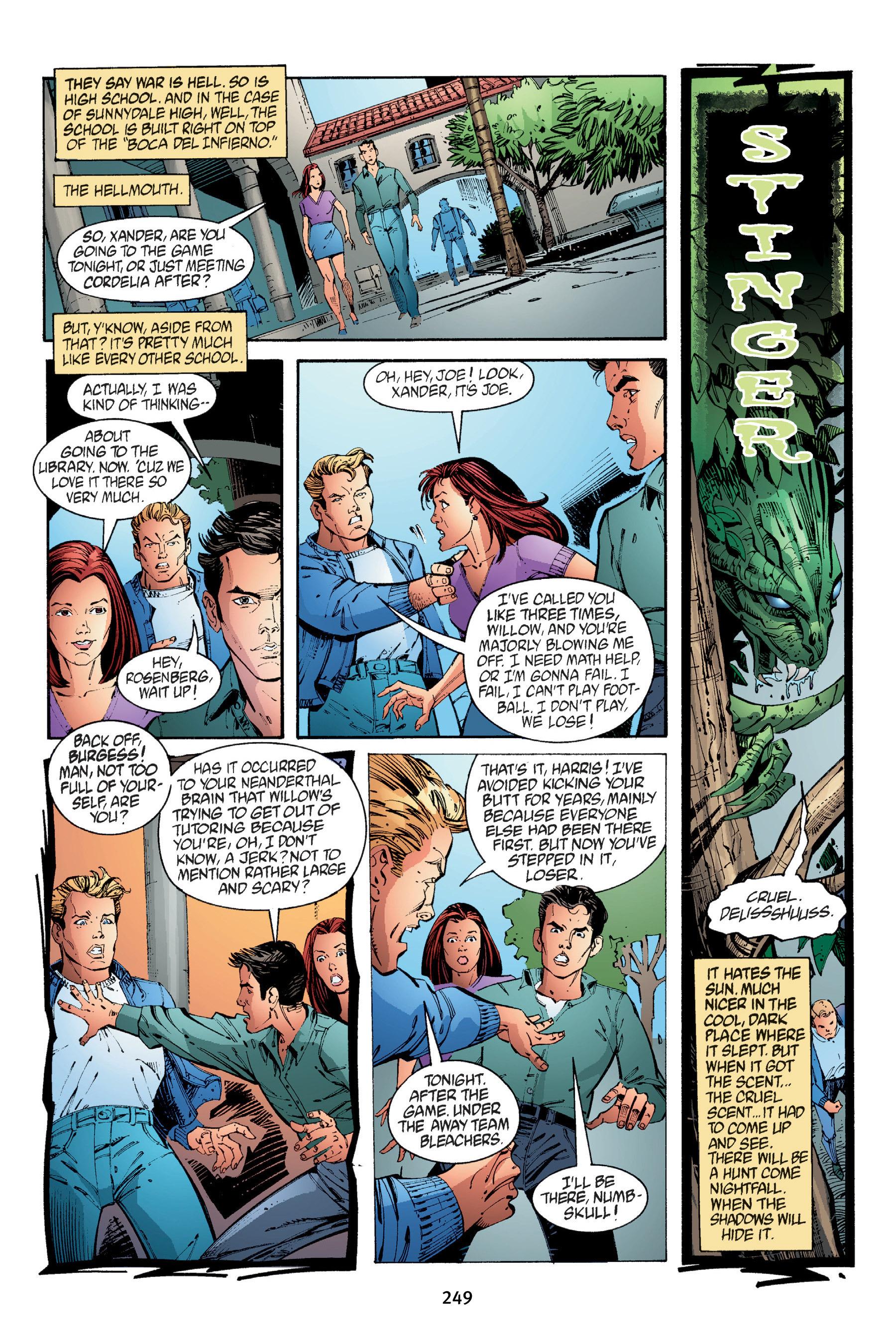 Read online Buffy the Vampire Slayer: Omnibus comic -  Issue # TPB 4 - 247