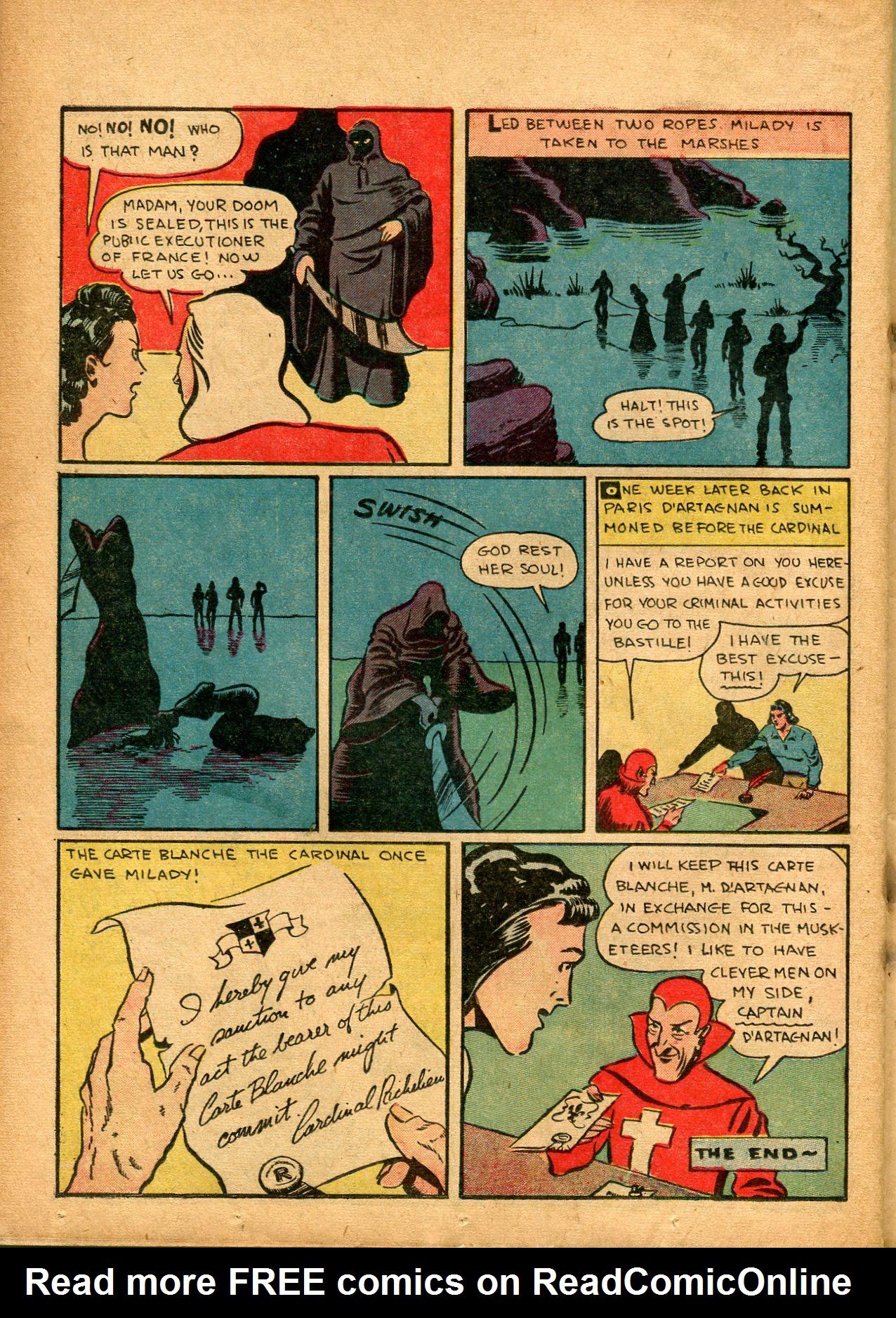 Read online Shadow Comics comic -  Issue #8 - 48