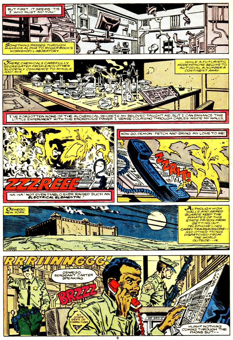 Read online Alpha Flight (1983) comic -  Issue # _Annual 1 - 10