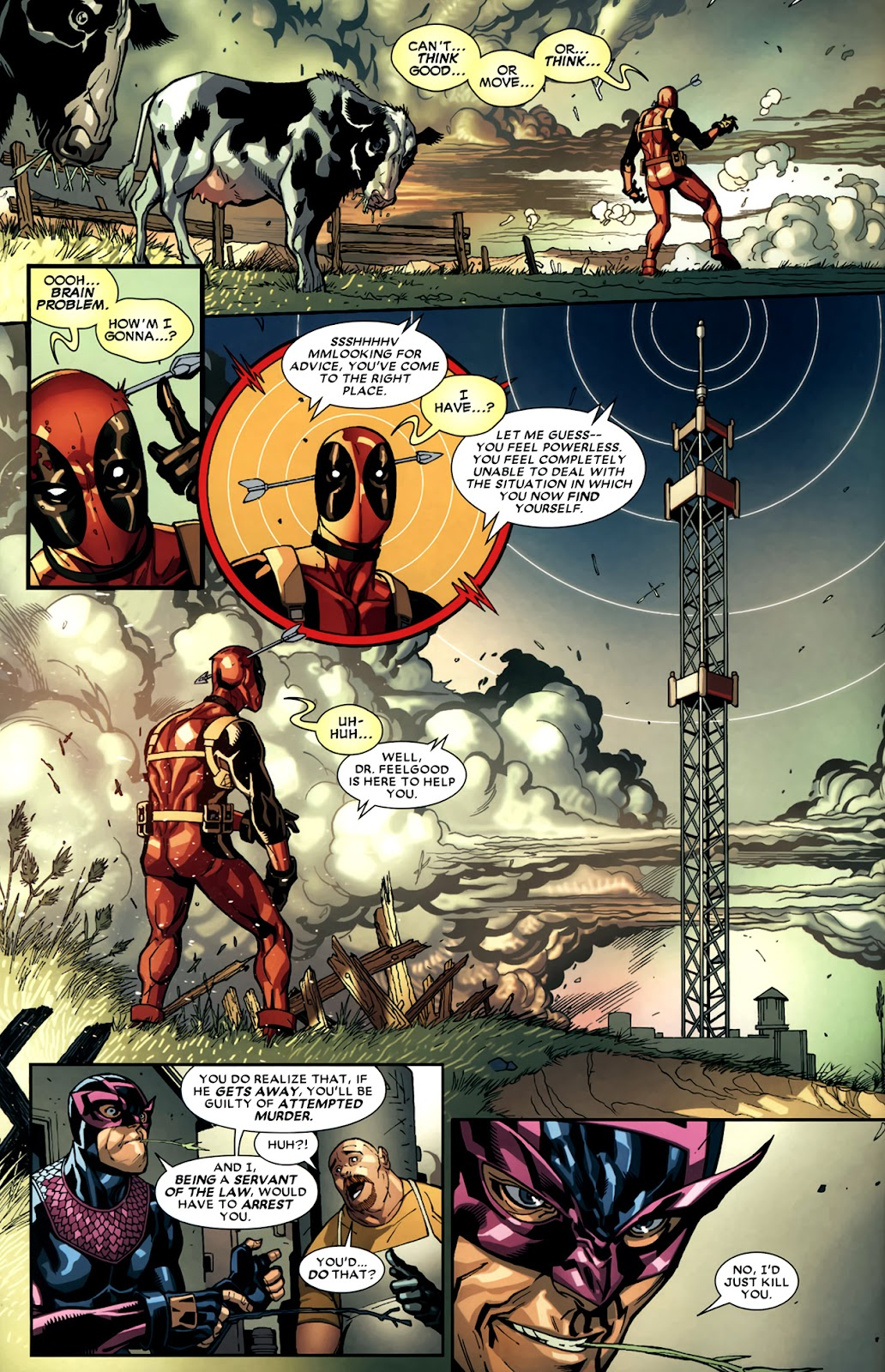 Read online Deadpool (2008) comic -  Issue #11 - 6