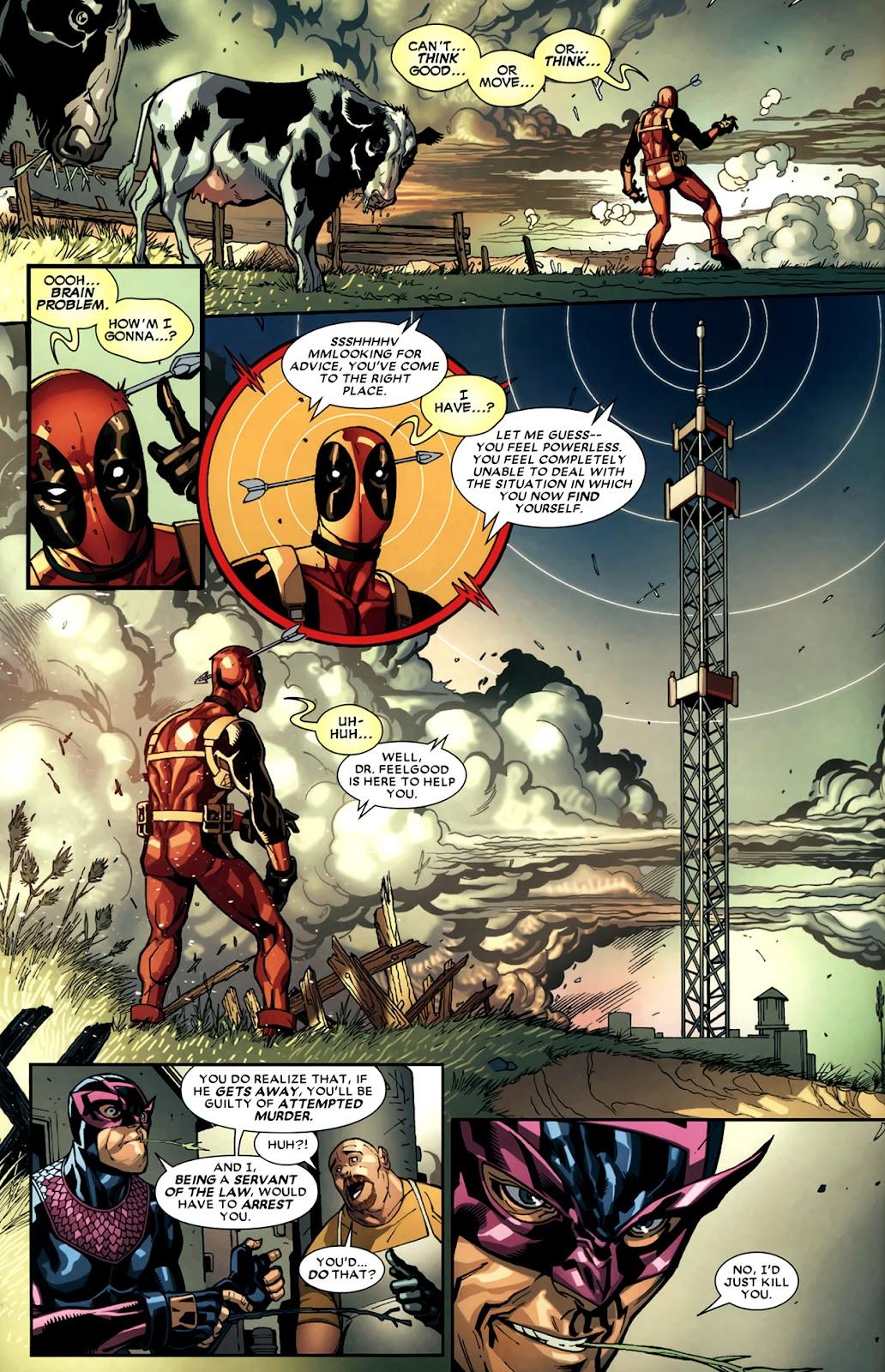 Read online Deadpool (2008) comic -  Issue #11 - 6