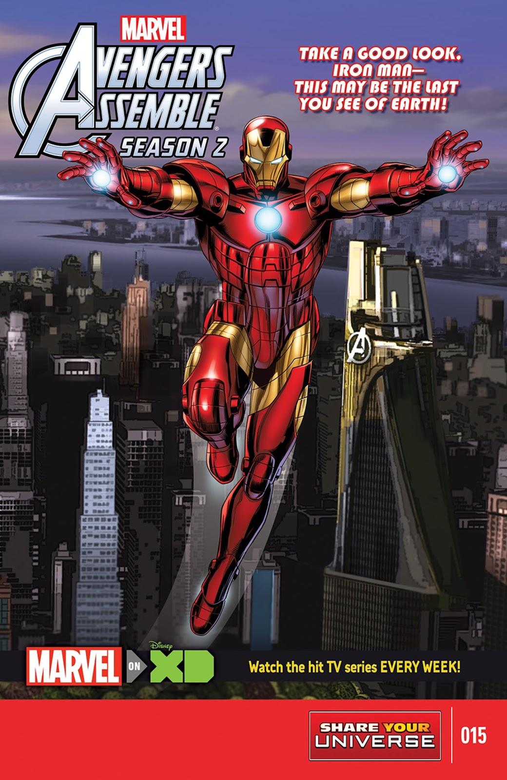 Read online Marvel Universe Avengers Assemble Season 2 comic -  Issue #15 - 1