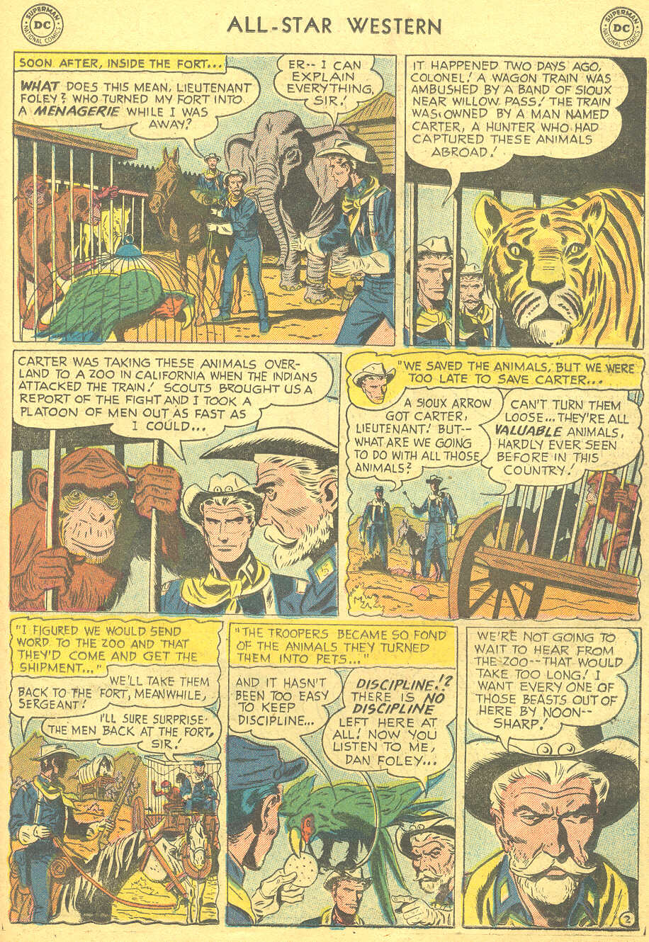 Read online All-Star Western (1951) comic -  Issue #88 - 19